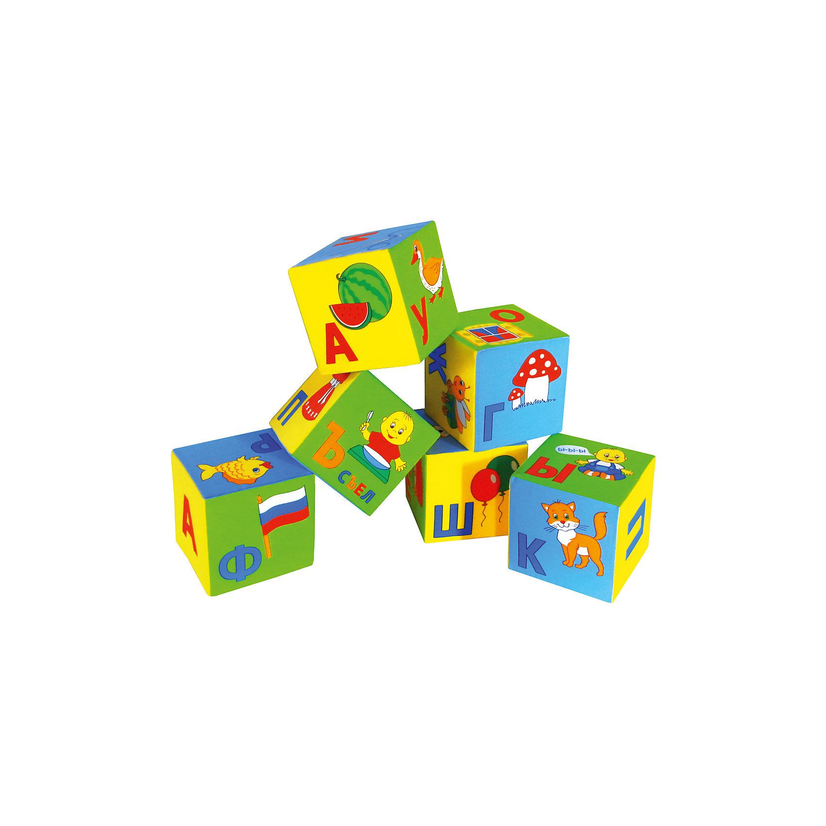 Кубики Умная Азбука, МякишиКубики<br>Кубики Умная Азбука, Мякиши - это универсальное учебное пособие, которое в веселой игровой форме познакомит Вашего ребенка с буквами алфавита, научит складывать слоги и слова. В комплект входят шесть красочных кубиков, на гранях которых изображены буквы и яркие картинки к ним (всего 33 буквы). Специально разработанный крупный шрифт, цветовое разделение букв на гласные и согласные и лёгкие понятные иллюстрации помогут малышу сделать первые успехи в освоении алфавита. В пособии использованы только реальные и современные слова и образы. Из кубиков можно сложить более 50 слов, входящих в лексикон детей раннего возраста и свыше 100 слов, входящие в лексикон взрослого. Игрушка изготовлена из мягких, приятных на ощупь гипоаллергенных материалов. Способствует развитию сенсорных способностей, мелкой моторики и координации обеих рук. <br><br>Дополнительная информация:<br><br>- Комплект: 6 кубиков.<br>- Материал:100% х/б ткань, поролон.<br>- Размер одного кубика: 15 х 15 х 15 см.<br>- Размер упаковки: 45 х 15 х 30 см.<br>- Вес: 150 гр.<br><br>Кубики Умная Азбука, Мякиши, можно купить в нашем интернет-магазине.<br><br>Ширина мм: 450<br>Глубина мм: 150<br>Высота мм: 300<br>Вес г: 150<br>Возраст от месяцев: 12<br>Возраст до месяцев: 36<br>Пол: Унисекс<br>Возраст: Детский<br>SKU: 4424931