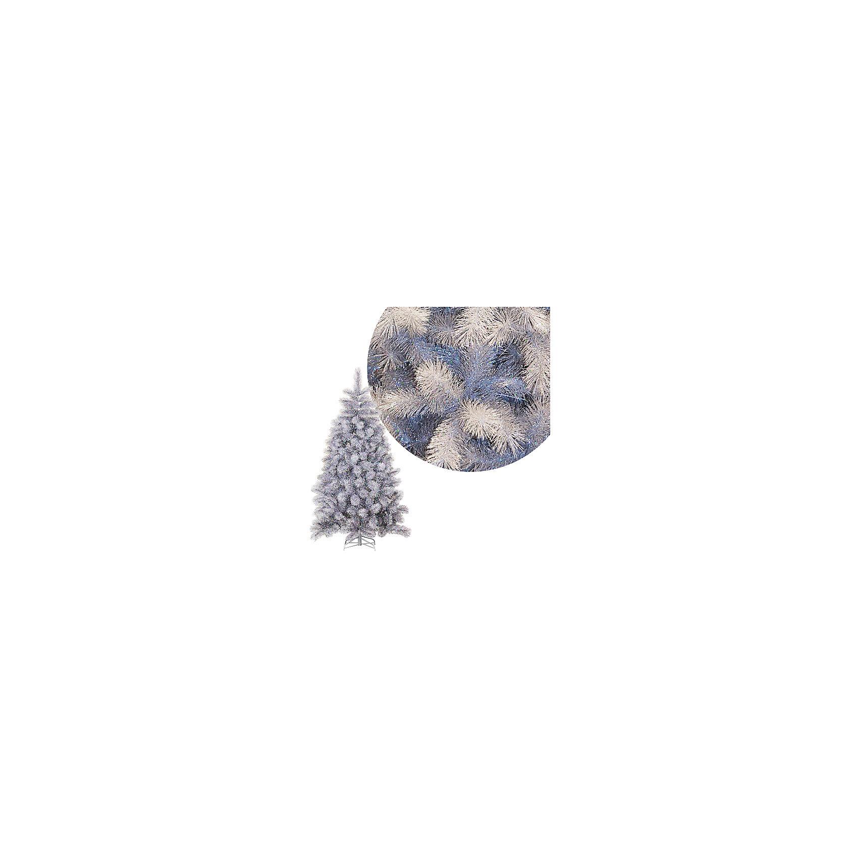 Серебряная елка 150 см (240 веток) на металлической подставкеСеребряная елка 150 см (240 веток) на металлической подставке – эта новогодняя ель принесет праздничное настроение в любой дом.<br>Новогодняя серебряная ель с пушистыми веточками - настоящая шикарная лесная красавица! Искусственная елочка будет достойным декоративным украшением любого помещения! Стоит только собрать секции, распрямить ветви и распушить их. Такая конструкция является самой долговечной и удобной, а сборка и установка ели не отнимает много времени и сил.<br><br>Дополнительная информация:<br><br>- Высота: 150 см.<br>- Количество веток: 240<br>- Прочное металлическое основание<br>- Размер упаковки: 14х16х95 см.<br>- Вес: 2 кг.<br><br>Серебряную елку 150 см (240 веток) на металлической подставке можно купить в нашем интернет-магазине.<br><br>Ширина мм: 140<br>Глубина мм: 160<br>Высота мм: 950<br>Вес г: 2000<br>Возраст от месяцев: 36<br>Возраст до месяцев: 2147483647<br>Пол: Унисекс<br>Возраст: Детский<br>SKU: 4437442