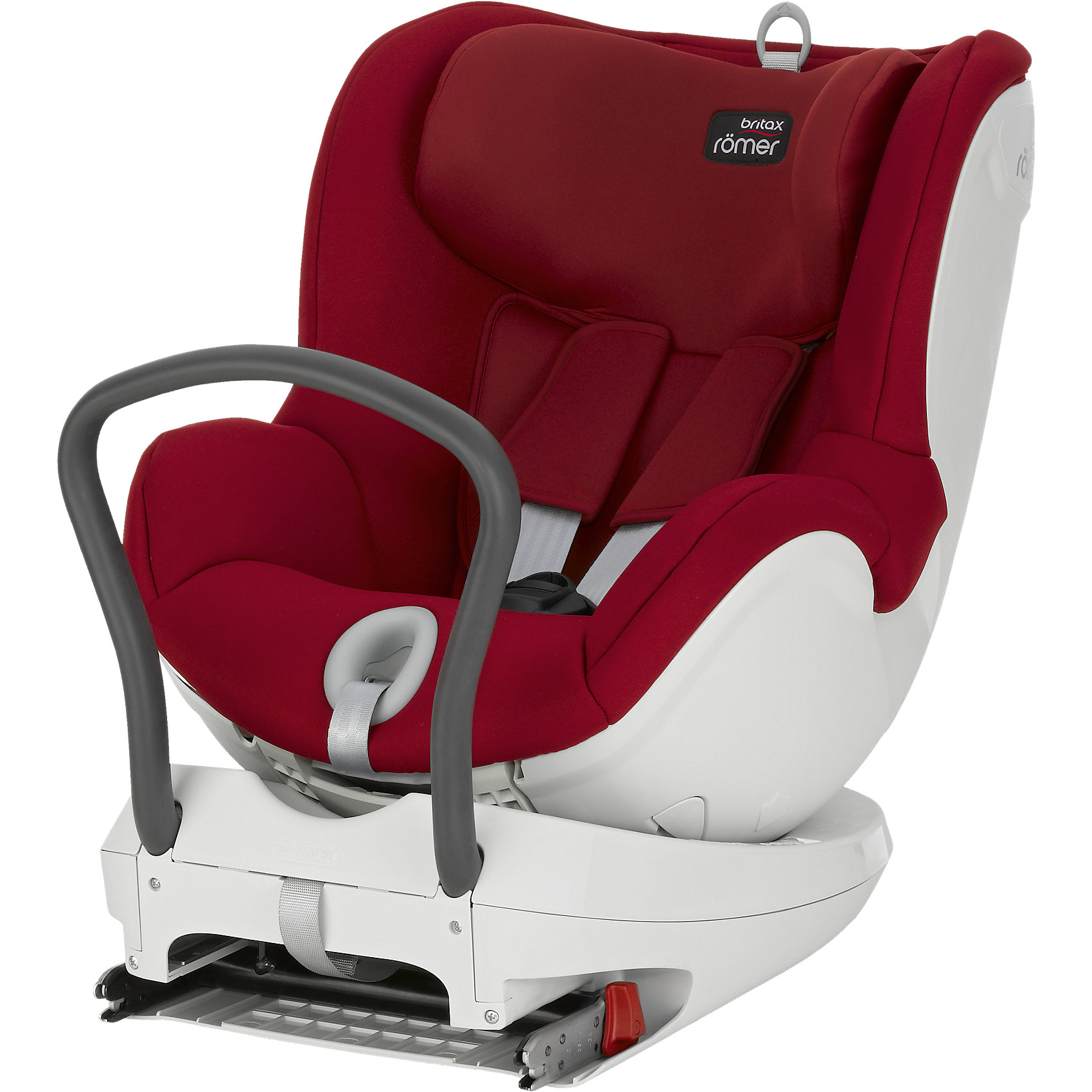 Автокресло DUALFIX, 0-18 кг., Britax Romer, Flame Red