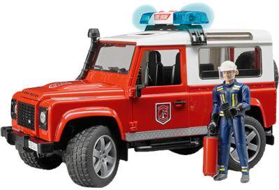Внедорожник с фигуркой Land Rover Defender Station Wagon , Bruder
