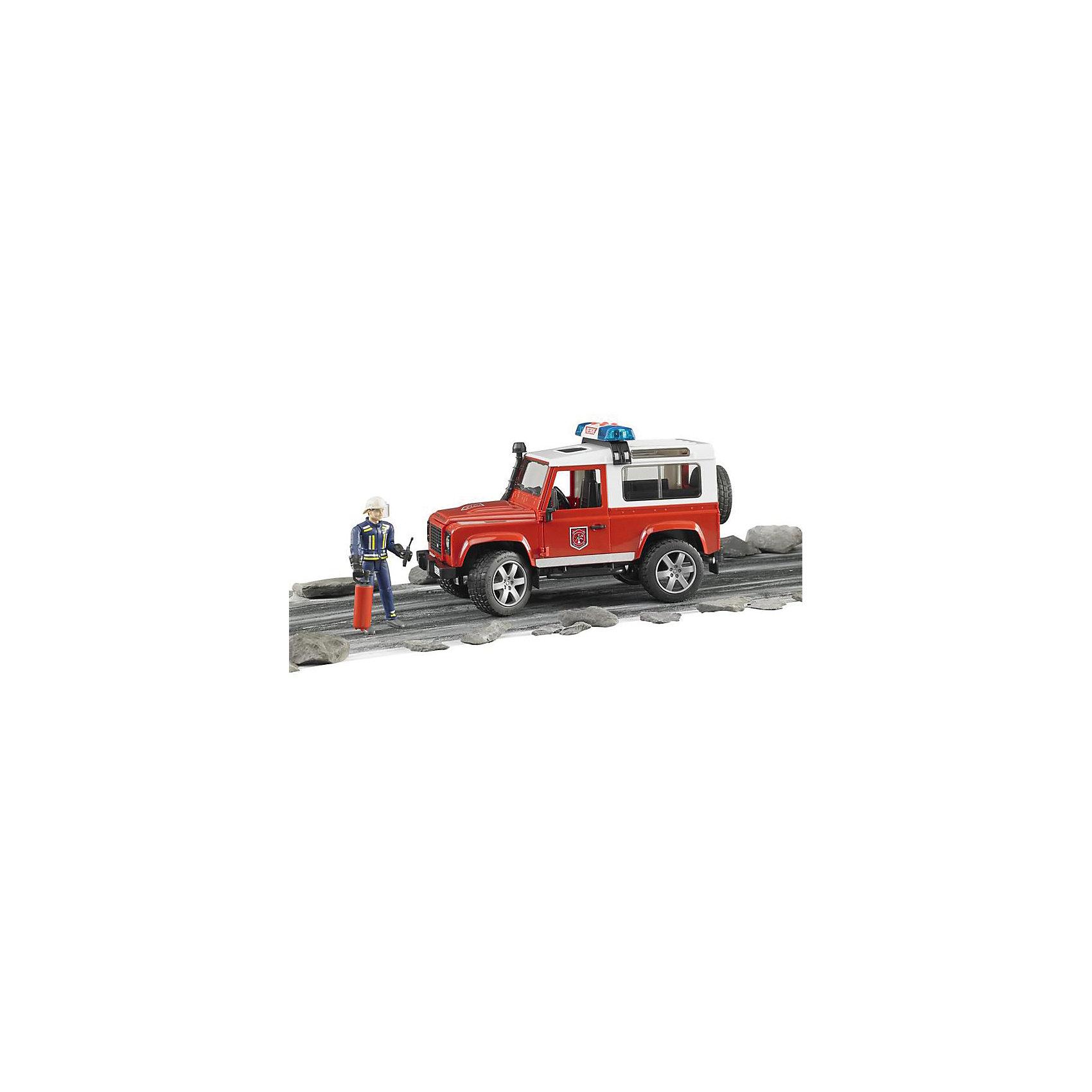 ����������� Land Rover Defender �������� � ��������, Bruder