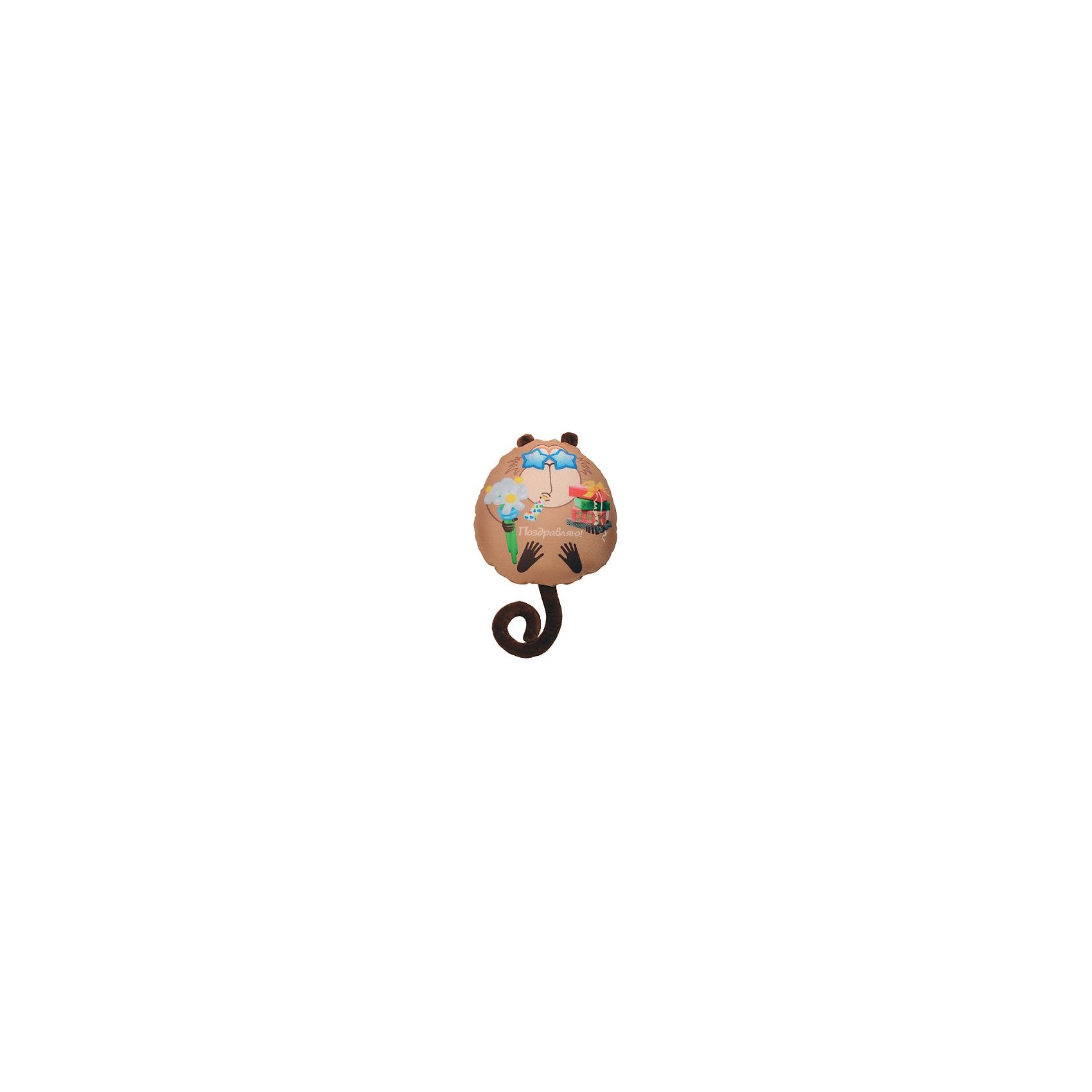 Подушка обезьянка Жужу В28, арт. 2932/БЖ-10/28Подушка обезьянка Жужу В28, арт. 2932/БЖ-10/28 – это подушка-игрушка, которая снимет напряжение и поднимет настроение.<br>Мягкая подушка-антистресс в виде забавной обезьянки, с которой так здорово играть, способна зарядить позитивом и стать аккумулятором хорошего настроения. Она очень эффектна и красива, и создает поистине волшебный релаксирующий эффект. Обшивка выполнена из высокопрочного полиэстера, обладающего повышенной эластичностью. Наполнитель - гранулы пищевого полистирола, диаметр шариков - менее миллиметра. Подушка приятна на ощупь, легка, упруга и всегда хорошо выглядит: как бы сильно ребенок не сжимал ее, она неизменно возвращается в первоначальную форму. Это идеальный рецепт хорошего настроения! Она подходит абсолютно всем, поскольку не вызывают аллергии. Оригинальный стиль и великолепное качество исполнения делают эту подушку-игрушку чудесным подарком к любому празднику.<br><br>Дополнительная информация:<br><br>- Материал верха: полиэстер<br>- Наполнитель: гранулы полистирола<br>- Цвет: бежевый<br>- Высота: 28 см.<br>- Вес: 210 гр.<br><br>Подушку обезьянка Жужу В28, арт. 2932/БЖ-10/28 можно купить в нашем интернет-магазине.<br><br>Ширина мм: 100<br>Глубина мм: 280<br>Высота мм: 280<br>Вес г: 210<br>Возраст от месяцев: 36<br>Возраст до месяцев: 2147483647<br>Пол: Унисекс<br>Возраст: Детский<br>SKU: 4441608