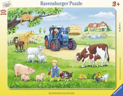 Пазл «Лето в деревне», 10 деталей, Ravensburger