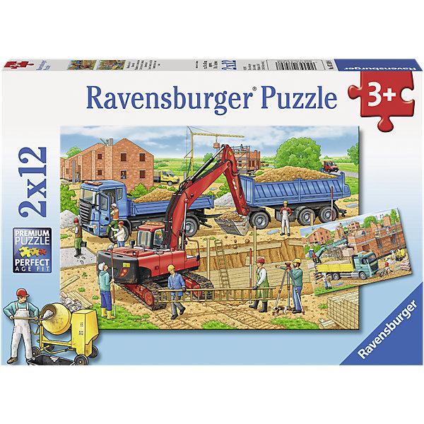RavensburgerПазл Стройка дома, 2х12 деталейПазлы для малышей<br>Пазл Стройка дома, 2х12 деталей, Ravensburger (Равенсбургер).<br><br>Характеристика:<br><br>• Материал: картон.<br>• Размер упаковки: 19х28х4 см. <br>• Размер готовой картинки: 19х26 см. <br>• Количество деталей: 24 (2 пазла по 12 деталей).<br><br>В этом наборе целых два пазла, собрав которые ты узнаешь, чем рабочие на стройке. Яркая красочная картинка станет отличным украшением детской или же замечательным подарком, сделанным своими руками. Собирание пазлов - увлекательное и полезное занятие, развивающее моторику рук, внимание, усидчивость и образное мышление. <br><br>Пазл Стройка дома, 2х12 деталей, Ravensburger (Равенсбургер) можно купить в нашем интернет-магазине.<br><br>Ширина мм: 279<br>Глубина мм: 189<br>Высота мм: 39<br>Вес г: 278<br>Возраст от месяцев: 36<br>Возраст до месяцев: 60<br>Пол: Мужской<br>Возраст: Детский<br>Количество деталей: 12<br>SKU: 4441678