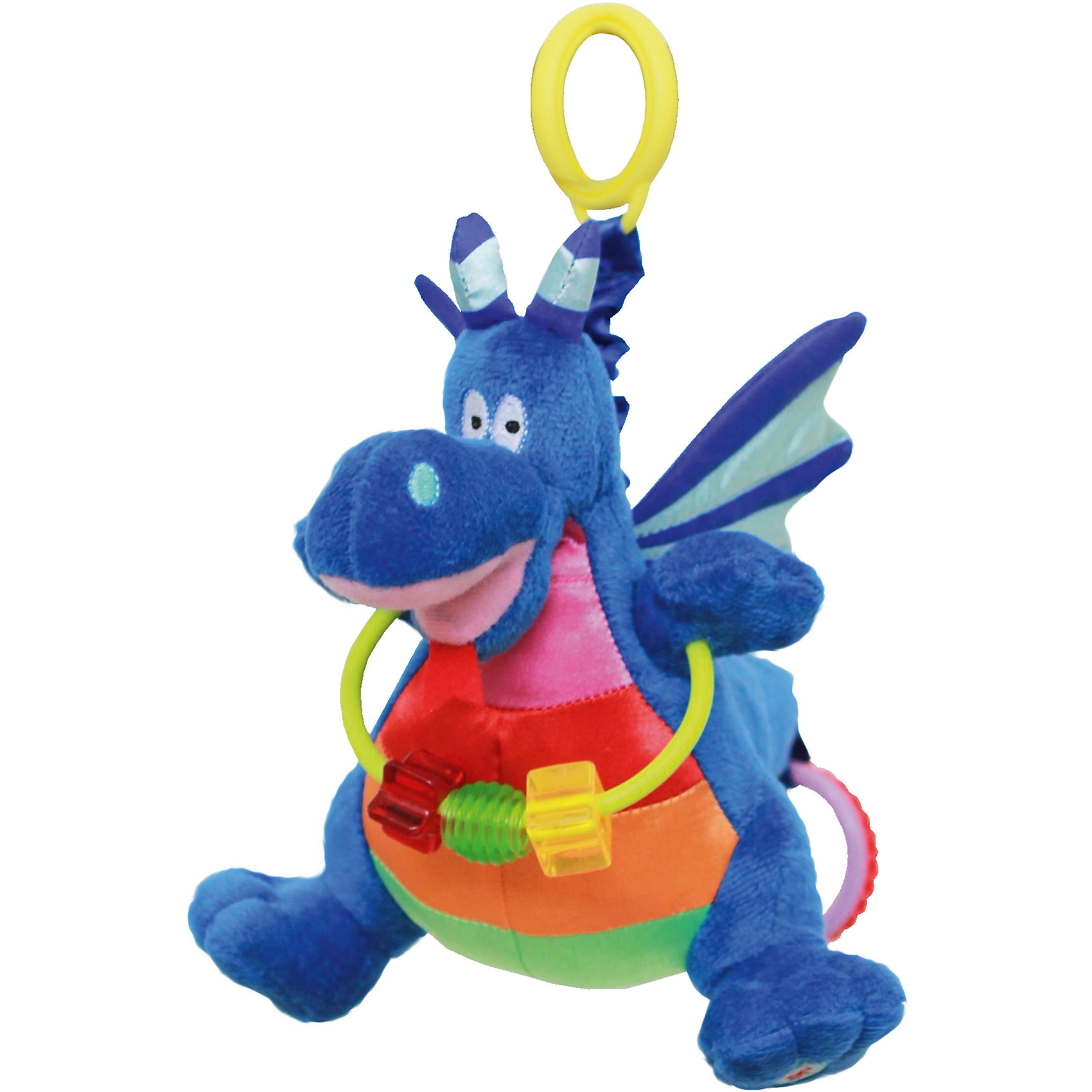 WeeWise Игрушка для коляски Дракон Джеки,  WeeWise weewise моя первая погремушка