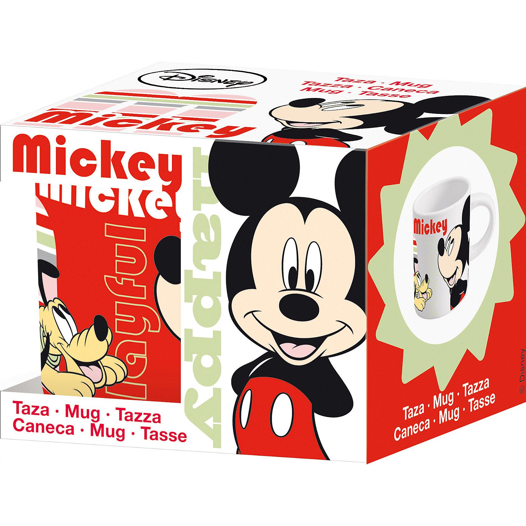 Новый Диск Керамическая кружка Микки маус 220 мл в подарочной упаковке