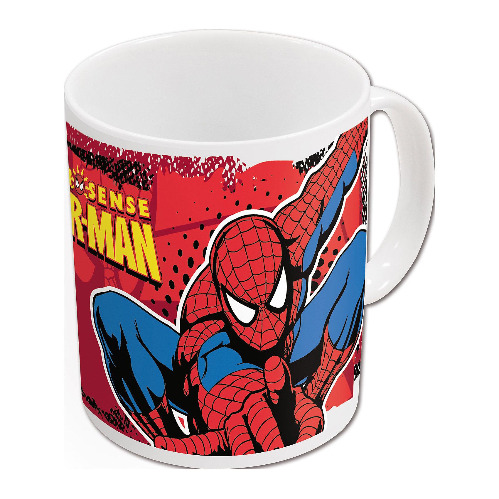 Новый Диск Керамическая кружка Человек-паук 325 мл в подарочной упаковке