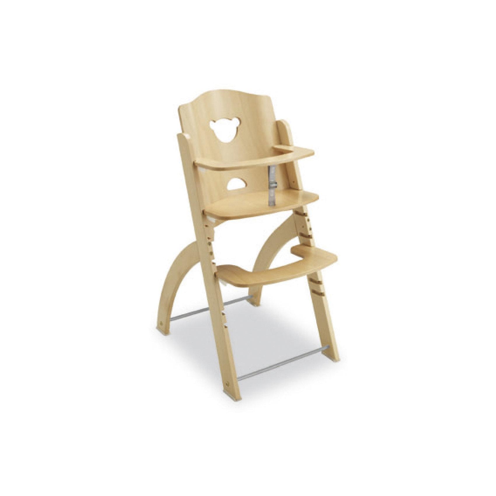 Стульчик для кормления Pappy-Re, Pali, натуральныйСтульчик для кормления изготовлен из натурального дерева, с использованием безопасных, экологичных красителей. Он очень удобный и практичный. Изделие легко моется влажной губкой, настройки стульчика осуществляются перестановкой плоскости сиденья и подножки на нужную высоту. Это сделать достаточно легко, благодаря специальным фиксаторам. Конструкция стульчика гарантирует правильное положение позвоночника, что способствует формированию правильной осанки ребёнка. <br><br>Дополнительная информация:<br><br>- Материал: дерево (бук).<br>- Размер сиденья: 44х56.<br>- Высота стула: 88 см.<br>- Сиденье, подножка регулируются по высоте. <br>- Цвет: дерево.<br><br>Стульчик для кормления Pappy-Re (Паппи-Рэ), Pali (Пали), натуральный, можно купить в нашем магазине.<br><br>Ширина мм: 1040<br>Глубина мм: 480<br>Высота мм: 120<br>Вес г: 8800<br>Возраст от месяцев: 6<br>Возраст до месяцев: 36<br>Пол: Унисекс<br>Возраст: Детский<br>SKU: 4443707