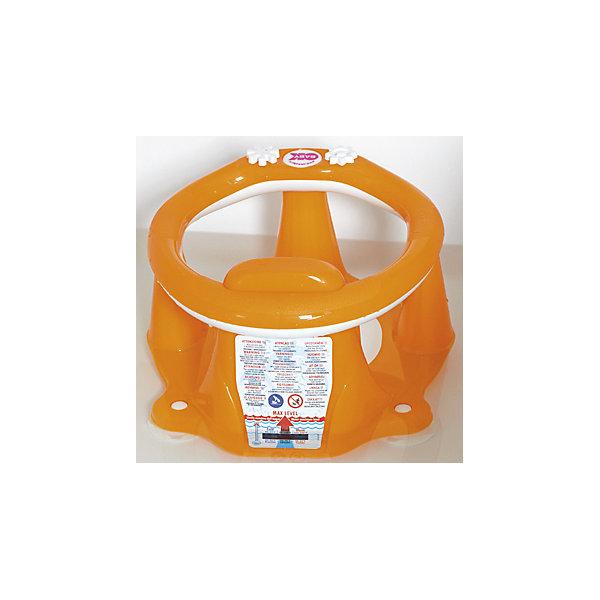 Сиденье в ванну Flipper Evolution, OK Baby, оранжевыйТовары для купания<br>Малыши обожают плескаться в ванне, при этом мысль о безопасности маленького непоседы не покидает ни одну маму. Сиденье в ванну Flipper Evolution мягко удержит кроху в положении сидя, обеспечив максимальный комфорт и безопасность. Стул выполнен из высококачественных материалов, имеет анти-скользящее покрытие, края покрытые резиной. Яркий дизайн сиденья обязательно понравится малышам. <br><br>Дополнительная информация:<br><br>- Материал: пластик, резина.<br>- Размер: 38x24x36  см.<br>- Максимальный вес ребенка: 13 кг.<br>- Анатомическая форма. <br>- Анти-скользящее покрытие. <br>- Яркий, привлекательный дизайн. <br><br>Сиденье в ванну Flipper Evolution, OK Baby, оранжевое, можно купить в нашем магазине.<br>Ширина мм: 380; Глубина мм: 360; Высота мм: 240; Вес г: 1200; Возраст от месяцев: 6; Возраст до месяцев: 216; Пол: Унисекс; Возраст: Детский; SKU: 4443720;