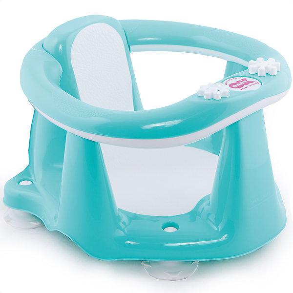 Сиденье в ванну Flipper Evolution, OK Baby, бирюзовыйТовары для купания<br>Малыши обожают плескаться в ванне, при этом мысль о безопасности маленького непоседы не покидает ни одну маму. Сиденье в ванну Flipper Evolution мягко удержит кроху в положении сидя, обеспечив максимальный комфорт и безопасность. Стул выполнен из высококачественных материалов, имеет анти-скользящее покрытие, края покрытые резиной. Яркий дизайн сиденья обязательно понравится малышам. <br><br>Дополнительная информация:<br><br>- Материал: пластик, резина.<br>- Размер: 38x24x36  см.<br>- Максимальный вес ребенка: 13 кг.<br>- Анатомическая форма. <br>- Анти-скользящее покрытие. <br>- Яркий, привлекательный дизайн. <br><br>Сиденье в ванну Flipper Evolution, OK Baby, бирюзовое, можно купить в нашем магазине.<br>Ширина мм: 380; Глубина мм: 360; Высота мм: 240; Вес г: 1200; Возраст от месяцев: 6; Возраст до месяцев: 18; Пол: Унисекс; Возраст: Детский; SKU: 4443722;