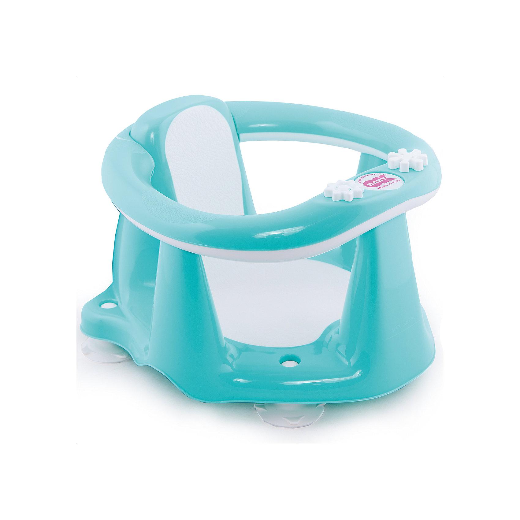 Сиденье в ванну Flipper Evolution, OK Baby, бирюзовыйМалыши обожают плескаться в ванне, при этом мысль о безопасности маленького непоседы не покидает ни одну маму. Сиденье в ванну Flipper Evolution мягко удержит кроху в положении сидя, обеспечив максимальный комфорт и безопасность. Стул выполнен из высококачественных материалов, имеет анти-скользящее покрытие, края покрытые резиной. Яркий дизайн сиденья обязательно понравится малышам. <br><br>Дополнительная информация:<br><br>- Материал: пластик, резина.<br>- Размер: 38x24x36  см.<br>- Максимальный вес ребенка: 13 кг.<br>- Анатомическая форма. <br>- Анти-скользящее покрытие. <br>- Яркий, привлекательный дизайн. <br><br>Сиденье в ванну Flipper Evolution, OK Baby, бирюзовое, можно купить в нашем магазине.<br><br>Ширина мм: 380<br>Глубина мм: 360<br>Высота мм: 240<br>Вес г: 1200<br>Возраст от месяцев: 6<br>Возраст до месяцев: 216<br>Пол: Унисекс<br>Возраст: Детский<br>SKU: 4443722