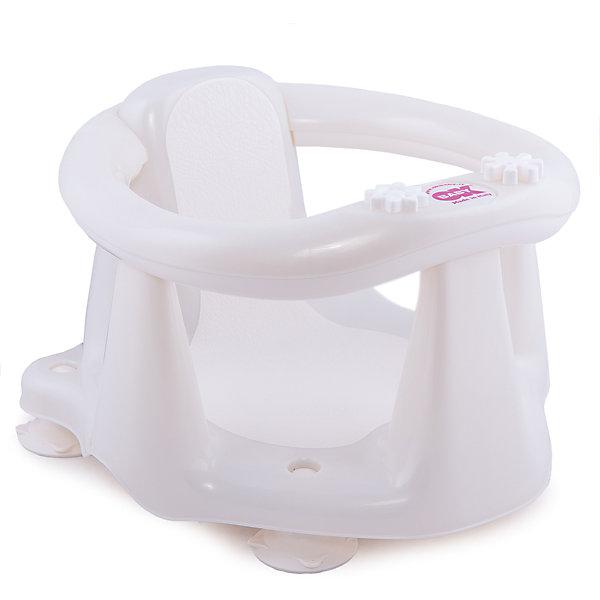 Сиденье в ванну Flipper Evolution, OK Baby, белыйТовары для купания<br>Малыши обожают плескаться в ванне, при этом мысль о безопасности маленького непоседы не покидает ни одну маму. Сиденье в ванну Flipper Evolution мягко удержит кроху в положении сидя, обеспечив максимальный комфорт и безопасность. Стул выполнен из высококачественных материалов, имеет анти-скользящее покрытие, края покрытые резиной. Яркий дизайн сиденья обязательно понравится малышам. <br><br>Дополнительная информация:<br><br>- Материал: пластик, резина.<br>- Размер: 38x24x36  см.<br>- Максимальный вес ребенка: 13 кг.<br>- Анатомическая форма. <br>- Анти-скользящее покрытие. <br>- Яркий, привлекательный дизайн. <br><br>Сиденье в ванну Flipper Evolution, OK Baby, белое, можно купить в нашем магазине.<br>Ширина мм: 380; Глубина мм: 360; Высота мм: 240; Вес г: 1200; Возраст от месяцев: 6; Возраст до месяцев: 216; Пол: Унисекс; Возраст: Детский; SKU: 4443724;