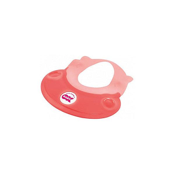 Козырек для купания Hippo, Ok Baby, розовыйТовары для купания<br>Малыши обожают купаться, но немногие дети любят мыть голову. Неприятные ощущения при попадании воды в глаза и на лицо сможет устранить удобный, яркий козырек для купания. Козырек в виде очаровательного бегемотика обязательно понравится крохе и превратит процесс мытья головы в веселую и увлекательную игру! Изделие выполнено из высококачественного пластика безопасного для детей. <br><br>Дополнительная информация:<br><br>- Материал: пластик, резина.<br>- Размер: 52х45 см.<br>- Рекомендуемый возраст: от 8 до 36 месяцев.<br>- Яркий, привлекательный дизайн. <br><br>Козырек для купания Hippo, Ok Baby, розовый, можно купить в нашем магазине.<br>Ширина мм: 150; Глубина мм: 130; Высота мм: 100; Вес г: 200; Возраст от месяцев: 6; Возраст до месяцев: 36; Пол: Женский; Возраст: Детский; SKU: 4443725;
