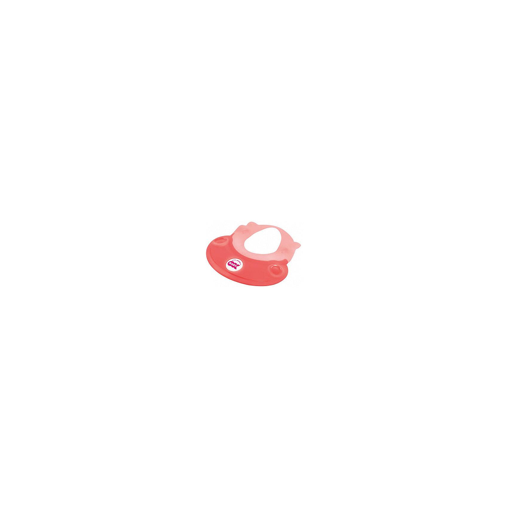 OK Baby Козырек для купания Hippo, Ok Baby, розовый roxy kids козырек защитный для мытья головы rbc 492 g зеленый от 6 месяцев до 3 лет