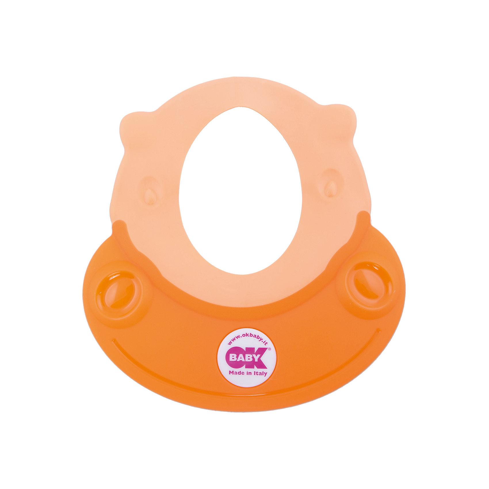 Козырек для купания Hippo, Ok Baby, оранжевыйПрочие аксессуары<br>Малыши обожают купаться, но немногие дети любят мыть голову. Неприятные ощущения при попадании воды в глаза и на лицо сможет устранить удобный, яркий козырек для купания. Козырек в виде очаровательного бегемотика обязательно понравится крохе и превратит процесс мытья головы в веселую и увлекательную игру! Изделие выполнено из высококачественного пластика безопасного для детей. <br><br>Дополнительная информация:<br><br>- Материал: пластик, резина.<br>- Размер: 52х45 см.<br>- Рекомендуемый возраст: от 8 до 36 месяцев.<br>- Яркий, привлекательный дизайн. <br><br>Козырек для купания Hippo, Ok Baby, оранжевый, можно купить в нашем магазине.<br><br>Ширина мм: 150<br>Глубина мм: 130<br>Высота мм: 100<br>Вес г: 200<br>Возраст от месяцев: 6<br>Возраст до месяцев: 36<br>Пол: Женский<br>Возраст: Детский<br>SKU: 4443726