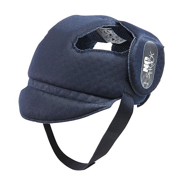 Противоударный шлем No Shock, Ok Baby, синийЗащита малыша<br>Противоударный шлем No Shock защитит голову малыша во время падений, обеспечив комфорт и безопасность в любой ситуации. Дополнительную защиту в области носа создает  козырек. Мягкий ремешок не натирает шею. Внутреннее покрытие шлема выполнено из специального мягкого полотна, обработанного методом Sanitized, предотвращающим образование плесени и бактерий. <br><br>Дополнительная информация:<br><br>- Материал: внешнее покрытие - 100% полиэфирная ткань; внутреннее покрытие - мягкая ткань. <br>- Размер головы: 44-52.<br>- Рекомендуемый возраст: от 8 до 36 месяцев.<br>- Козырек, защищающий нос.<br>- Можно стирать. <br>- Мягкий ремешок. <br>- Выдерживает до 10 кг. <br><br>Противоударный шлем No Shock, Ok Baby, синий, можно купить в нашем магазине.<br><br>Ширина мм: 150<br>Глубина мм: 130<br>Высота мм: 100<br>Вес г: 200<br>Возраст от месяцев: 6<br>Возраст до месяцев: 18<br>Пол: Унисекс<br>Возраст: Детский<br>SKU: 4443730