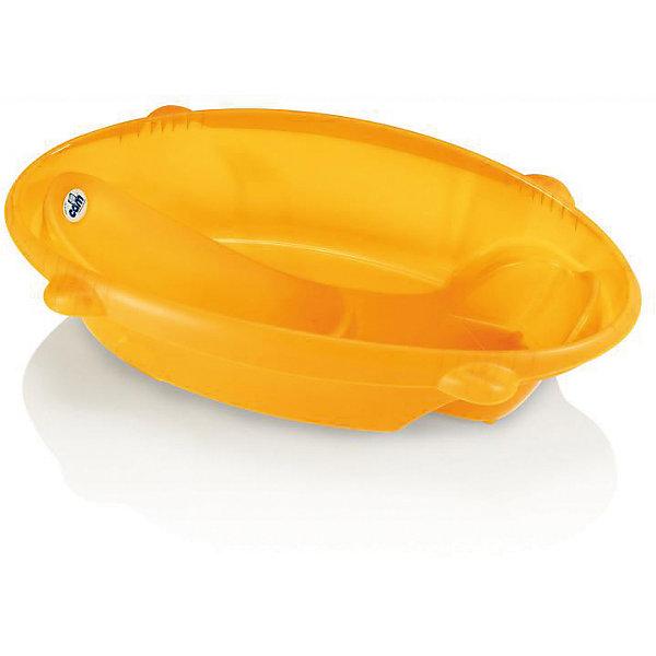Ванночка Bollicina, CAM, оранжевыйТовары для купания<br>Ванночка Bollicina подарит малышам безопасное и комфортное купание. Ванночка удерживает кроху в идеальном для купания положении, не позволяя ему соскользнуть под воду. Изделие выполнено из высококачественных экологичных материалов безопасных для детей, имеет удобный размер и сливное отверстие. Ванночка имеет два удобных сиденья: наклонное (для малышей с первых дней жизни и до 6 месяцев) и сиденье с подлокотником, которое можно использовать для детей до года. <br><br>Дополнительная информация:<br><br>- Материал: пластик.<br>- Размер: 82 x 44 x 23 см. <br>- Дополнительные ножки для еще большей устойчивости.<br>- Пробка для слива воды.<br>- Два сиденья.<br><br>Ванночку Bollicina, CAM, оранжевую, можно купить в нашем магазине.<br><br>Ширина мм: 502<br>Глубина мм: 385<br>Высота мм: 889<br>Вес г: 1600<br>Цвет: оранжевый<br>Возраст от месяцев: 0<br>Возраст до месяцев: 12<br>Пол: Унисекс<br>Возраст: Детский<br>SKU: 4443743
