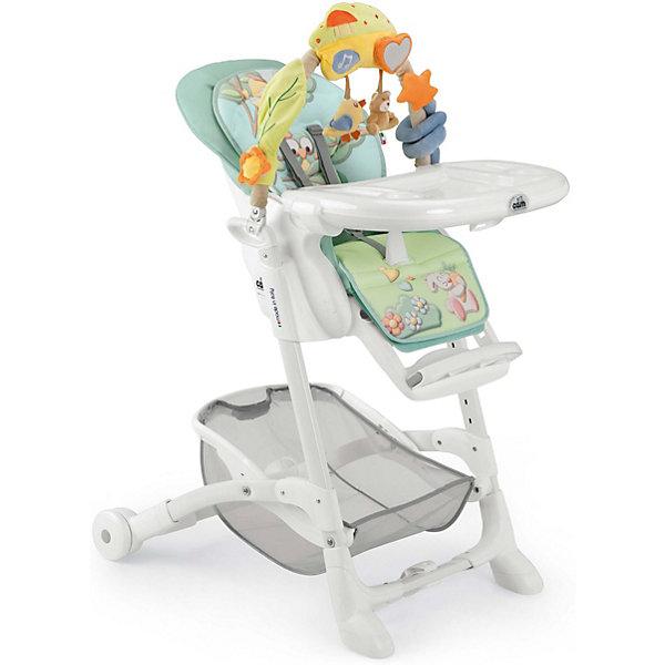 Стульчик для кормления Istante Совы, CAM, голубойСтульчики для кормления<br>Очень удобный и комфортный стульчик для кормления обязательно понравится малышам! Мягкое сиденье с регулируемой в пяти положениях спинкой, страховочными ремнями и удобным разделителем для ног обеспечит малышам комфорт и безопасность. Стульчик имеет колесики, облегчающие перемещение по квартире; удобную подставку для ножек ребенка; съемный стол можно мыть в посудомоечной машине. Стул выполнен в приятной цветовой гамме, изготовлен из высококачественных прочных и экологичных материалов. Передняя часть рамы снабжена нескользящими ножками, которые обеспечивают дополнительную безопасность. Под сиденьем располагается большая корзина для игрушек и вещей. <br><br>Дополнительная информация:<br><br>- Материал: пластик, металл, <br>- Размер: 80x65x105 см.<br>- Колесики.<br>- Вместительная корзина внизу. <br>- Нескользящие ножки.<br>- Регулируемый наклон спинки (5 положений, до положения лежа).<br>- Компактно складывается.<br>- Съемный стол (можно мыть в посудомоечной машине).<br>- Регулировка по высоте в 5 положениях. <br>- Регулируемая подножка.<br>- 5-ти точечные ремни безопасности.<br>- Чехол снимается и легко моется.<br><br>Стульчик для кормления Istante Совы, CAM, голубой, можно купить в нашем магазине.<br><br>Ширина мм: 587<br>Глубина мм: 272<br>Высота мм: 970<br>Вес г: 12500<br>Возраст от месяцев: 0<br>Возраст до месяцев: 36<br>Пол: Унисекс<br>Возраст: Детский<br>SKU: 4443752