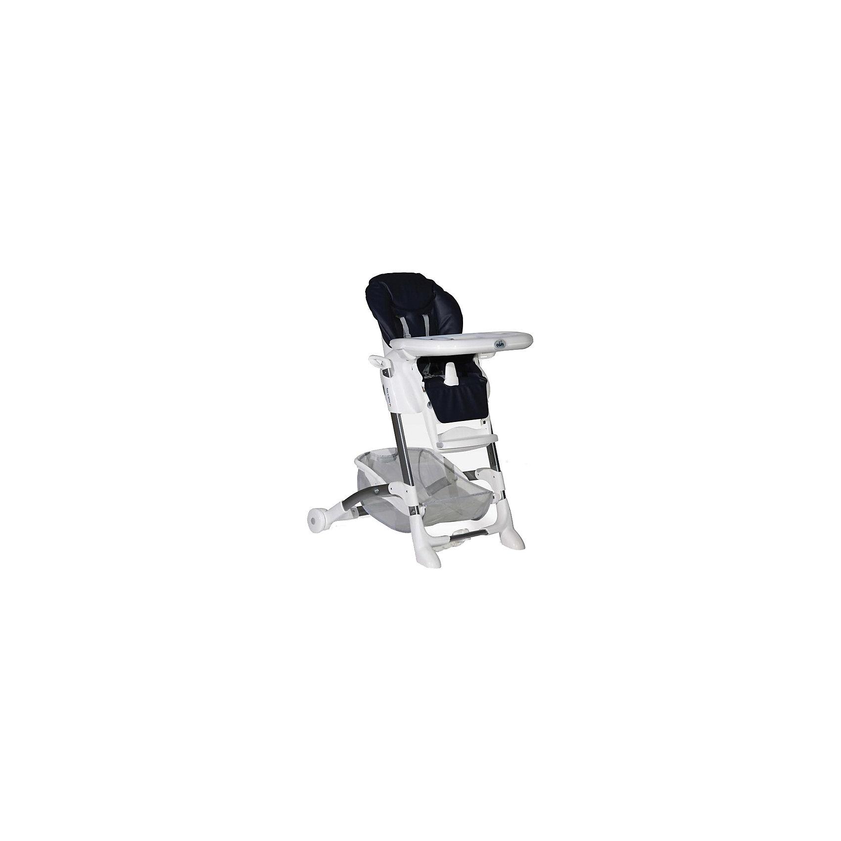 Стульчик для кормления Istante Basic, CAM, синийОчень удобный и комфортный стульчик для кормления обязательно понравится малышам! Мягкое сиденье с регулируемой в пяти положениях спинкой, страховочными ремнями и удобным разделителем для ног обеспечит малышам комфорт и безопасность. Стульчик имеет колесики, облегчающие перемещение по квартире; удобную подставку для ножек ребенка; съемный стол можно мыть в посудомоечной машине. Обивка стула выполнена из мягкой эко-кожи, сам стул изготовлен из высококачественных прочных и экологичных материалов. Передняя часть рамы снабжена нескользящими ножками, которые обеспечивают дополнительную безопасность. Под сиденьем располагается большая корзина для игрушек и вещей. <br><br>Дополнительная информация:<br><br>- Материал: пластик, металл, <br>- Размер: 80x56x105 см.<br>- Колесики.<br>- Вместительная корзина внизу. <br>- Нескользящие ножки.<br>- Регулируемый наклон спинки (5 положений, до положения лежа).<br>- Компактно складывается.<br>- Съемный стол (можно мыть в посудомоечной машине).<br>- Регулировка по высоте в 5 положениях. <br>- Регулируемая подножка.<br>- 5-ти точечные ремни безопасности.<br>- Чехол из эко-кожи, протирается губкой. <br><br>Стульчик для кормления Istante Basic, CAM, синий, можно купить в нашем магазине.<br><br>Ширина мм: 587<br>Глубина мм: 272<br>Высота мм: 970<br>Вес г: 12500<br>Возраст от месяцев: 0<br>Возраст до месяцев: 36<br>Пол: Унисекс<br>Возраст: Детский<br>SKU: 4443753