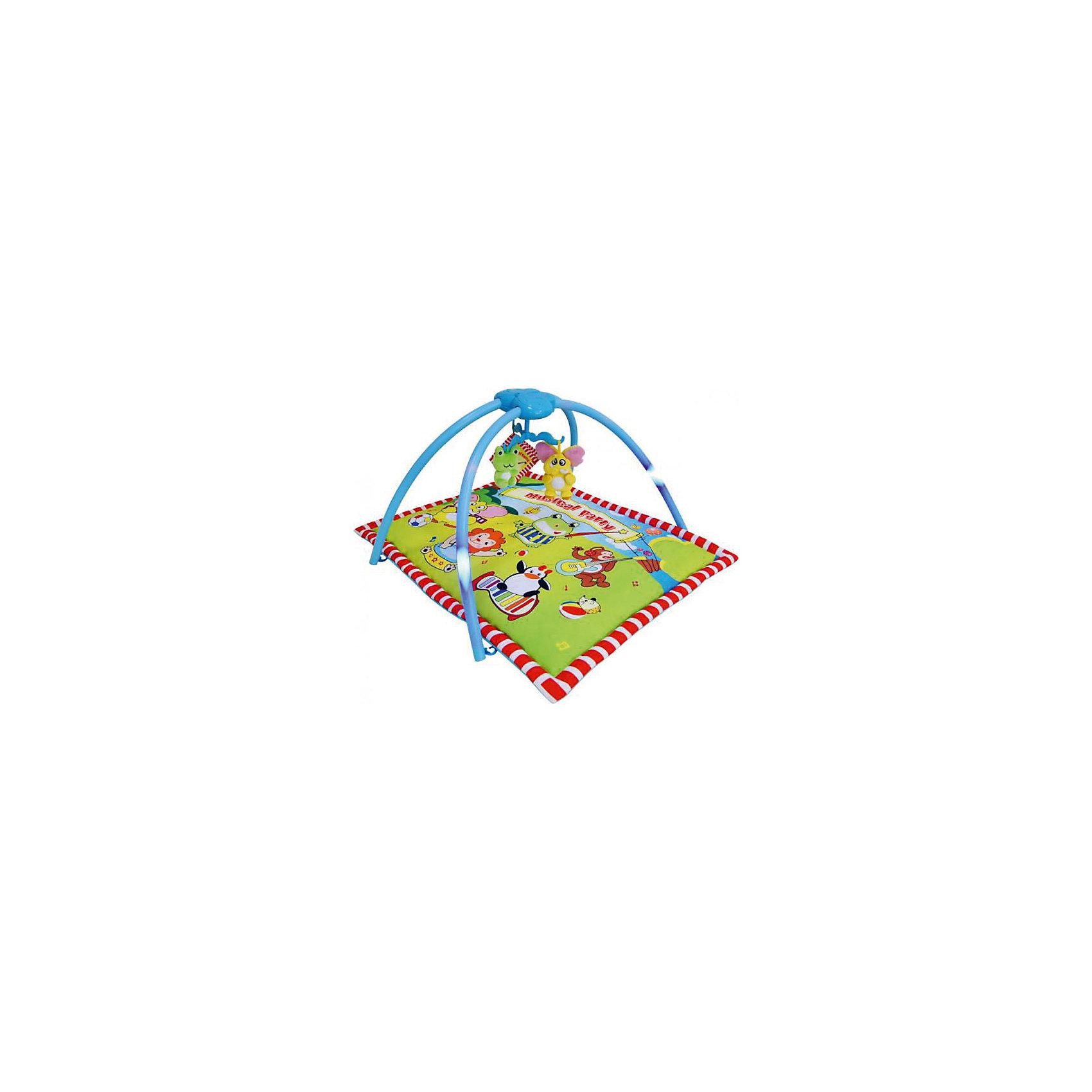 LaDiDa Развивающий коврик Музыкальная вечеринка, LaDiDa развивающий коврик ult купить челябинск