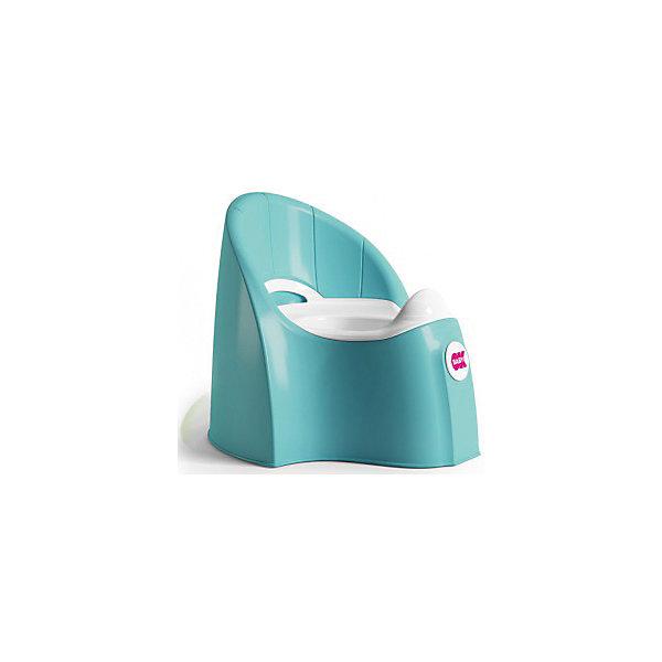 Горшок Pasha, Ok Baby, бирюзовыйДетские горшки и писсуары<br>Горшок имеет анатомическое сиденье и съемную емкость для удобной очистки. Яркий горшок со спинкой обязательно понравится ребенку и обеспечит ему максимальный комфорт, что является важным фактором в приучении ребенка к туалету. Изделие выполнено из высококачественного прочного пластика, для большей устойчивости оснащено антискользящей накладкой внизу.  <br><br>Дополнительная информация:<br><br>- Материал: пластик.<br>- Размер: 33,5 x 36,5 x 31 см.<br>- Съемная ёмкость.<br>- Удобная спинка.<br><br>Горшок Pasha, Ok Baby, бирюзовый, можно купить в нашем магазине.<br><br>Ширина мм: 365<br>Глубина мм: 335<br>Высота мм: 310<br>Вес г: 2500<br>Возраст от месяцев: 6<br>Возраст до месяцев: 36<br>Пол: Унисекс<br>Возраст: Детский<br>SKU: 4443776