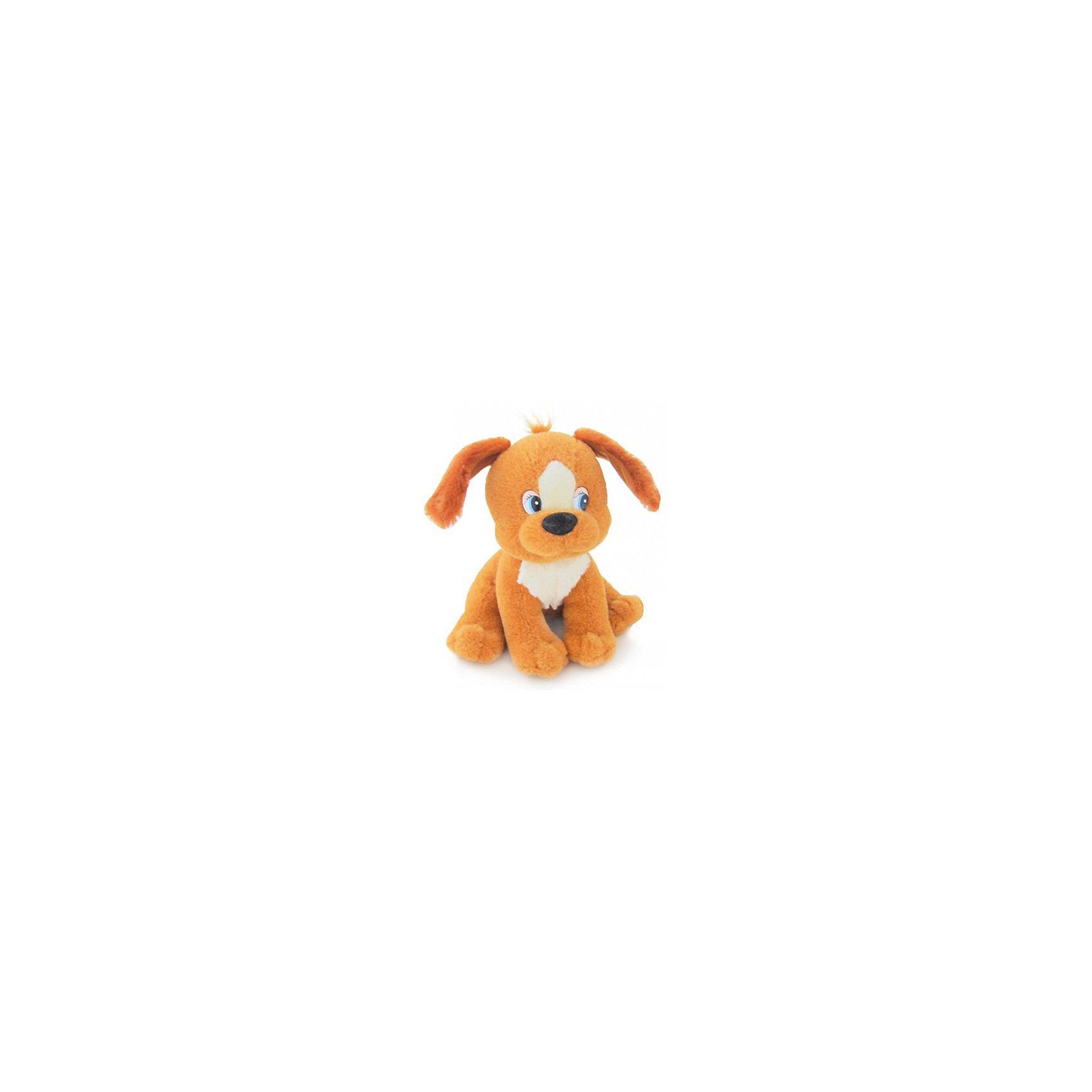 Щенок Дружок, музыкальный, 15см., LAVAЭтот милый щенок приведет в восторг любого ребенка! Щенка зовут Дружок, он очень мягкий, приятный на ощупь и умеет петь веселую песенку. Игрушка изготовлена из высококачественного материала, абсолютно безопасного для детей. <br><br>Дополнительная информация:<br><br>- Материал: искусственный мех, текстиль, синтепон, пластик.<br>- Высота: 15 см.<br>- Поет песенку (Щенок растёт...).<br>- Элемент питания: батарейка (в комплекте).<br><br>Щенка Дружка, музыкального, 15 см., LAVA (ЛАВА) можно купить в нашем магазине.<br><br>Ширина мм: 150<br>Глубина мм: 150<br>Высота мм: 150<br>Вес г: 236<br>Возраст от месяцев: 36<br>Возраст до месяцев: 1188<br>Пол: Унисекс<br>Возраст: Детский<br>SKU: 4444125