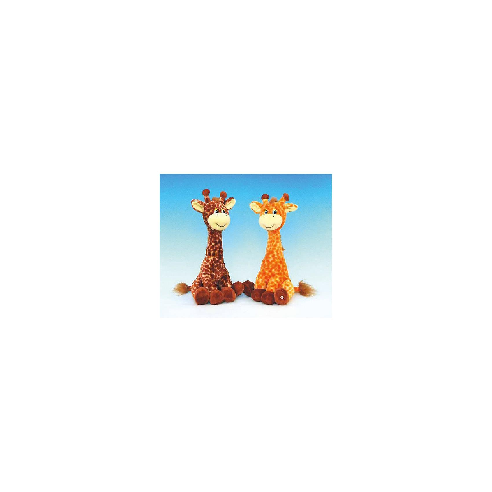 Жирафик, музыкальный, 31см., LAVAМилый музыкальный жирафик споет малышам песенку и покорит своим очарованием. Игрушка выполнена из высококачественных материалов, очень приятна на ощупь, безопасна даже для малышей. <br><br>Дополнительная информация:<br><br>- Материал: искусственный мех, текстиль, синтепон, пластик.<br>- Размер: 31 см. <br>- Поет песенку <br>- Элемент питания: батарейка (в комплекте).<br><br>Жирафика, музыкального, 31 см., LAVA (ЛАВА), можно купить в нашем магазине.<br><br>Ширина мм: 150<br>Глубина мм: 150<br>Высота мм: 310<br>Вес г: 220<br>Возраст от месяцев: 36<br>Возраст до месяцев: 1188<br>Пол: Унисекс<br>Возраст: Детский<br>SKU: 4444145