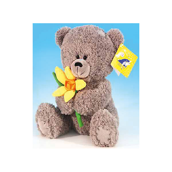 Медвежонок с нарциссом, музыкальный, 20см., LAVAМузыкальные мягкие игрушки<br>Этот очаровательный мишка не оставит равнодушным ни одного ребенка! Милый медведь очень мягкий и приятный на ощупь, он умеет петь песенку и обязательно поднимет настроение малышам! Мишка изготовлен из высококачественных экологичных материалов. <br><br>Дополнительная информация:<br><br>- Материал: искусственный мех, текстиль, синтепон, пластик.<br>- Высота: 20 см. <br>- Поет песенку <br>- Элемент питания: батарейка (в комплекте).<br><br>Медвежонка с нарциссом, музыкального, 20 см., LAVA (ЛАВА) можно купить в нашем магазине.<br><br>Ширина мм: 150<br>Глубина мм: 150<br>Высота мм: 200<br>Вес г: 203<br>Возраст от месяцев: 36<br>Возраст до месяцев: 1188<br>Пол: Унисекс<br>Возраст: Детский<br>SKU: 4444158