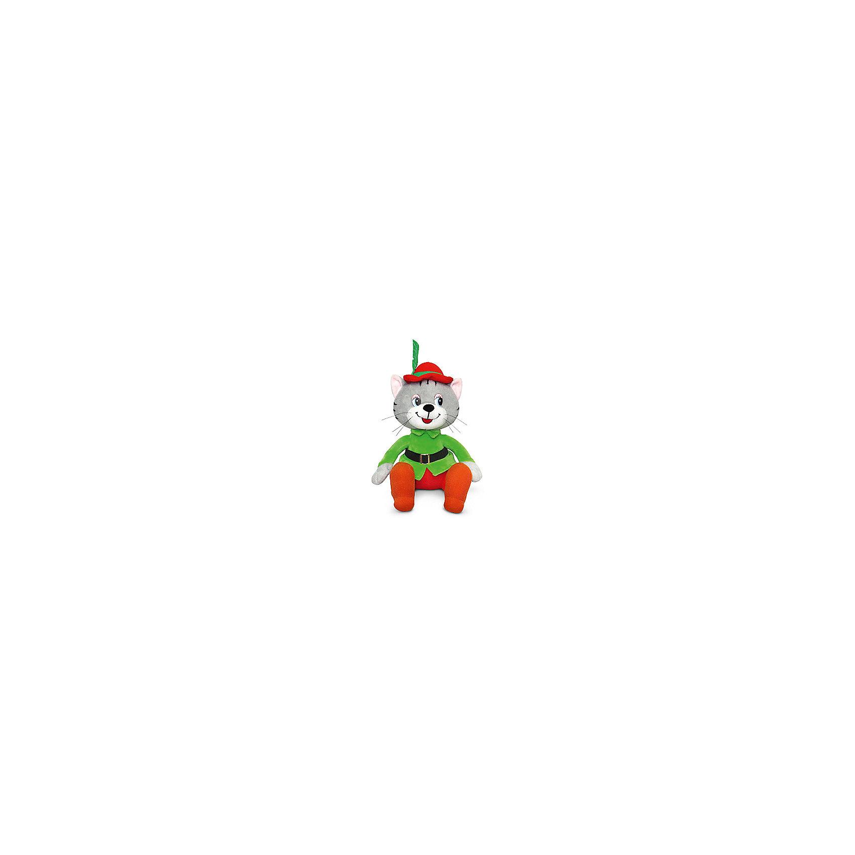 LAVA Кот Робин, музыкальный, 25 см., LAVA lava бобер музыкальный 19 см