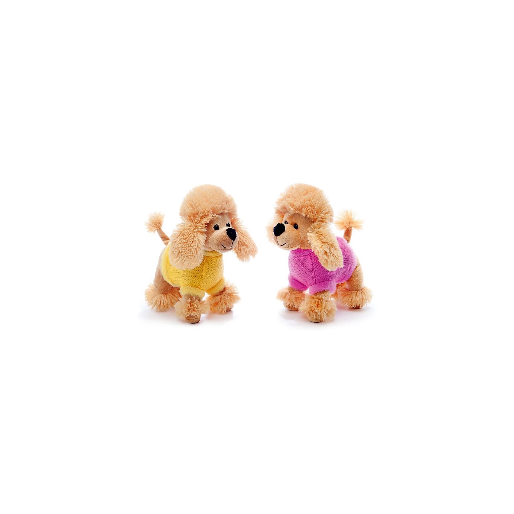 Пудель музыкальный, 21 см., LAVAКошки и собаки<br>Этот милый пудель приведет в восторг любого ребенка! Он очень мягкий, приятный на ощупь и умеет петь веселую песенку. Игрушка изготовлена из высококачественного материала, абсолютно безопасного для детей. <br><br>Дополнительная информация:<br><br>- Материал: искусственный мех, текстиль, синтепон, пластик.<br>- Высота: 21 см. <br>- Поет песенку.<br>- Элемент питания: батарейка (в комплекте).<br><br>Пуделя музыкального, 21 см., LAVA (ЛАВА) можно купить в нашем магазине.<br><br>Ширина мм: 150<br>Глубина мм: 150<br>Высота мм: 210<br>Вес г: 375<br>Возраст от месяцев: 36<br>Возраст до месяцев: 1188<br>Пол: Унисекс<br>Возраст: Детский<br>SKU: 4444185