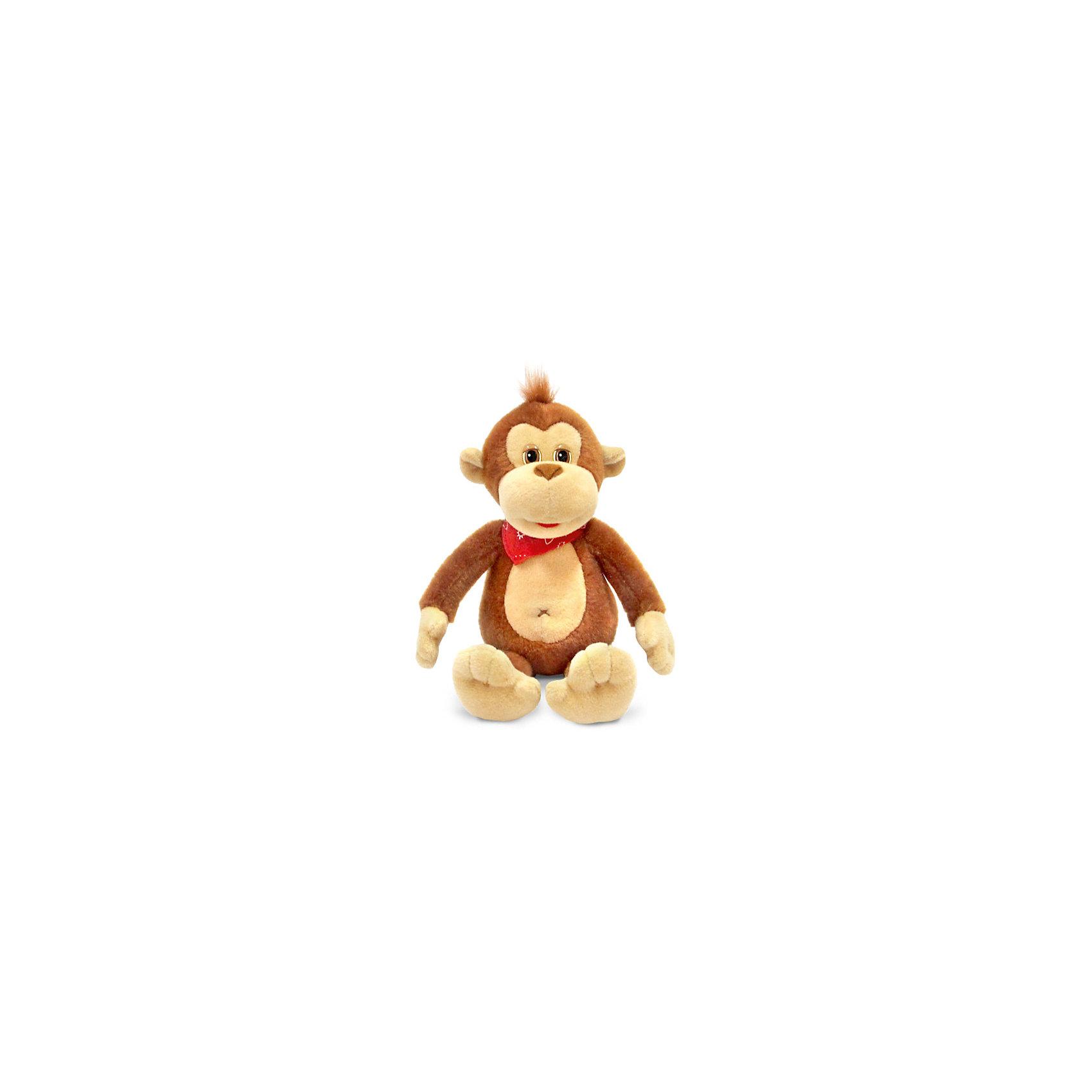 Обезьянка Рокки, музыкальная, 16см., LAVAОзвученные мягкие игрушки<br>Рокки - озорная обезьянка, которая умеет петь веселую песенку! Игрушка выполнена из высококачественных материалов, очень приятна на ощупь, безопасна для детей. Прекрасный подарок на любой праздник.<br><br>Дополнительная информация:<br><br>- Материал: искусственный мех, текстиль, синтепон, пластик.<br>- Размер: 16 см. <br>- Поет песенку <br>- Элемент питания: батарейка (в комплекте).<br><br>Обезьянку Рокки, музыкального, 16 см., LAVA (ЛАВА), можно купить в нашем магазине.<br><br>Ширина мм: 150<br>Глубина мм: 150<br>Высота мм: 155<br>Вес г: 79<br>Возраст от месяцев: 36<br>Возраст до месяцев: 1188<br>Пол: Унисекс<br>Возраст: Детский<br>SKU: 4444194