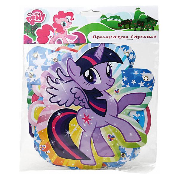 Гирлянда-буквы С Днем рождения, Мой маленький ПониMy little Pony<br>Дети всегда очень ждут свой День рождения, а какой же праздник без оригинального поздравления? Яркая гирлянда с буквами и любимыми героинями My little Pony (Май литл Пони) обязательно понравится ребенку, поднимет настроение и подарит море положительных эмоций!<br><br>Дополнительная информация:<br><br>- Материал: картон.<br>- Длина гирлянды: 220 см.<br><br>Гирлянду-буквы С Днем рождения, Мой маленький Пони, можно купить в нашем магазине.<br><br>Ширина мм: 280<br>Глубина мм: 210<br>Высота мм: 10<br>Вес г: 80<br>Возраст от месяцев: 12<br>Возраст до месяцев: 144<br>Пол: Женский<br>Возраст: Детский<br>SKU: 4444329