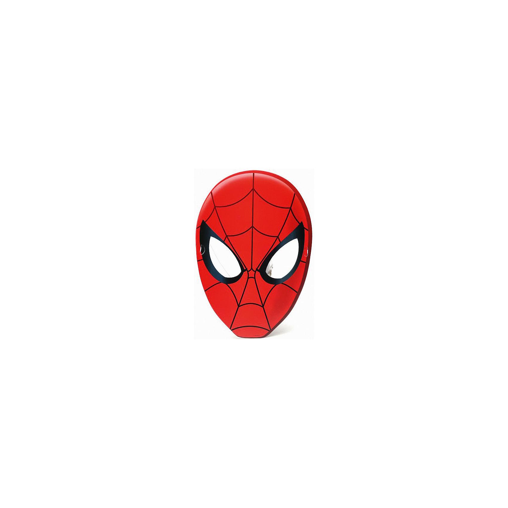 Набор масок Человек-Паук (6 шт)С этим набором масок любой праздник превращается в настоящий карнавал! Позвольте вашему ребенку с легкостью перевоплотиться в любимого героя. <br><br>Дополнительная информация:<br><br>- Материал: бумага.<br>- Размер: 25х33 см.<br>- 6 масок в наборе. <br><br>Набор масок Человек-Паук (6 шт) можно купить в нашем магазине.<br><br>Ширина мм: 80<br>Глубина мм: 300<br>Высота мм: 10<br>Вес г: 60<br>Возраст от месяцев: 36<br>Возраст до месяцев: 72<br>Пол: Мужской<br>Возраст: Детский<br>SKU: 4444332