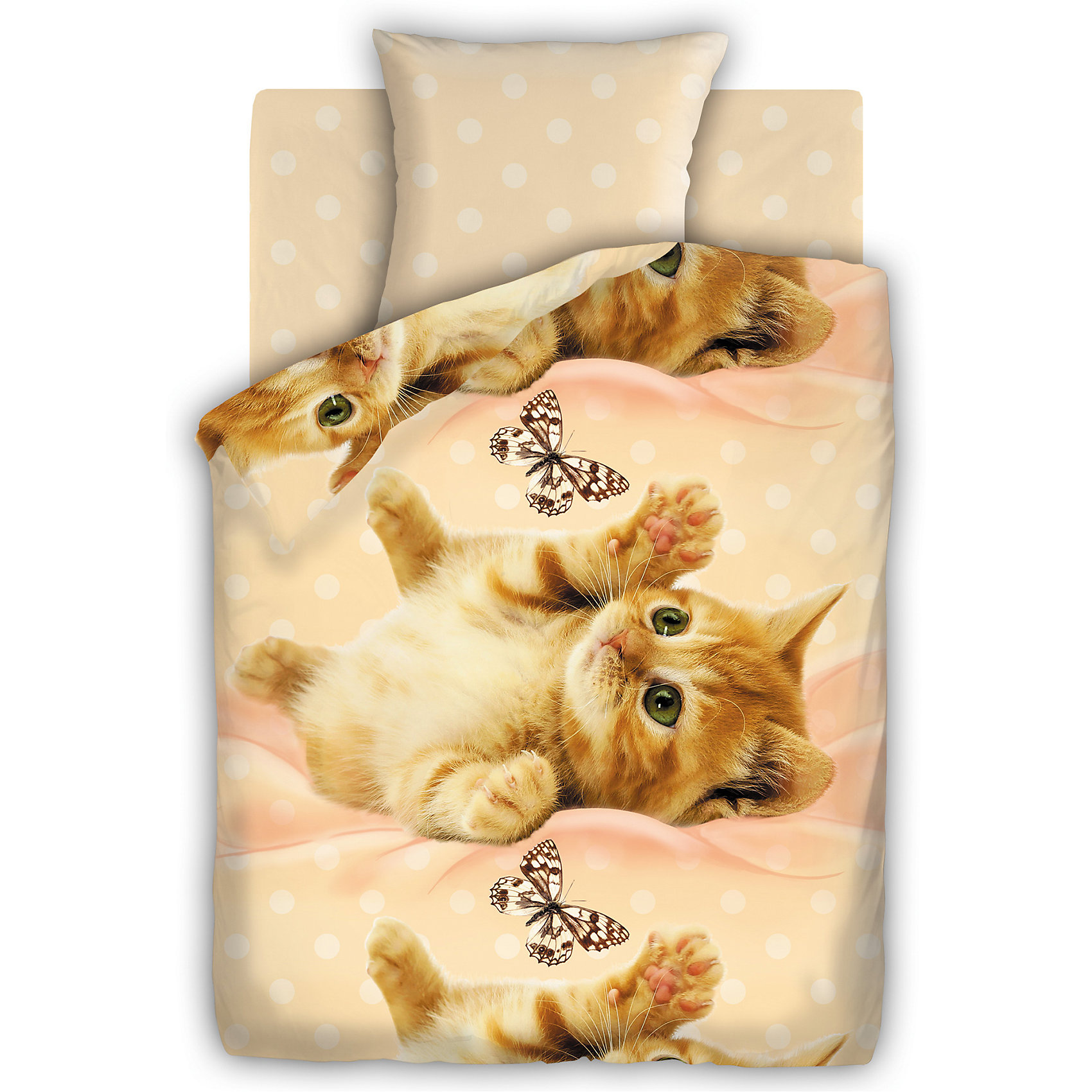 Комплект Ми-ми-ми 1,5-спальный, FOR YOUКомплект постельного белья Ми-ми-ми, For you, с чудесным привлекательным дизайном непременно понравится Вашей девочке. Комплект рассчитан на подростков 8-12 лет, выполнен в приятных бежево-розовых тонах и украшен изображениями очаровательных котят. Материал представляет собой качественную плотную бязь, очень комфортную и приятную на ощупь. Ткань отвечает всем экологическим нормам безопасности, дышащая, гипоаллергенная, не нарушает естественные процессы терморегуляции. При стирке белье не линяет, не деформируется и не теряет своих красок даже после многочисленных стирок.<br><br>Дополнительная информация:<br><br>- В комплекте: 1 наволочка, 1 пододеяльник и 1 простыня.<br>- Размер комплекта: полутораспальный.<br>- Тип ткани: бязь (100% хлопок).<br>- Плотность ткани: 115 г/м.<br>- Размер пододеяльника: 215 х 143 см.<br>- Размер наволочки: 70 х 70 см.<br>- Размер простыни: 214 х 150 см.<br>- Размер упаковки: 35 х 6 х 25 см.<br>- Вес: 1,33 кг. <br><br>Комплект Ми-ми-ми, 1,5 спальный, For you, можно приобрести в нашем интернет-магазине.<br><br>Ширина мм: 200<br>Глубина мм: 60<br>Высота мм: 280<br>Вес г: 800<br>Возраст от месяцев: 36<br>Возраст до месяцев: 120<br>Пол: Женский<br>Возраст: Детский<br>SKU: 4463251