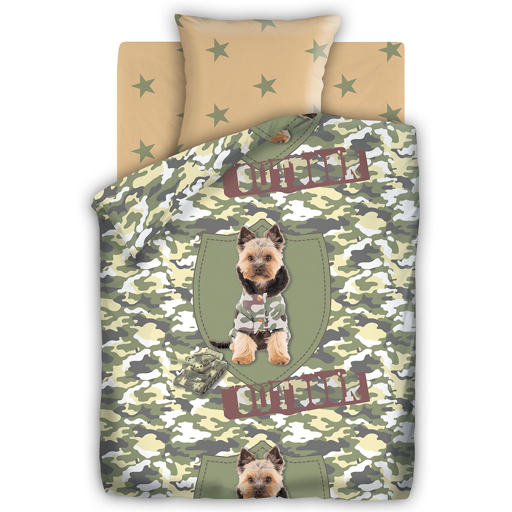 Постельное белье Йорк 1,5-спальный, FOR YOUДомашний текстиль<br>Комплект постельного белья Йорк, For you, с оригинальным дизайном непременно понравится Вашему ребенку. Комплект стилизован под камуфляжную ткань и украшен изображениями забавного песика йорка в защитном комбинезоне. Материал представляет собой качественную<br>плотную бязь, очень комфортную и приятную на ощупь. Ткань отвечает всем экологическим нормам безопасности, дышащая, гипоаллергенная, не нарушает естественные процессы терморегуляции. При стирке белье не линяет, не деформируется и не теряет своих красок даже после<br>многочисленных стирок.<br><br>Дополнительная информация:<br><br>- В комплекте: 1 наволочка, 1 пододеяльник и 1 простыня.<br>- Размер комплекта: полутораспальный.<br>- Тип ткани: Бязь (100% хлопок).<br>- Плотность ткани: 115 г/м.<br>- Размер пододеяльника: 215 х 143 см.<br>- Размер наволочки: 70 х 70 см.<br>- Размер простыни: 214 х 150 см.<br>- Размер упаковки: 35 х 6 х 25 см.<br>- Вес: 1,33 кг. <br><br>Комплект Йорк, 1,5 спальный, For you, можно приобрести в нашем интернет-магазине.<br><br>Ширина мм: 200<br>Глубина мм: 60<br>Высота мм: 280<br>Вес г: 800<br>Возраст от месяцев: 36<br>Возраст до месяцев: 120<br>Пол: Унисекс<br>Возраст: Детский<br>SKU: 4463261