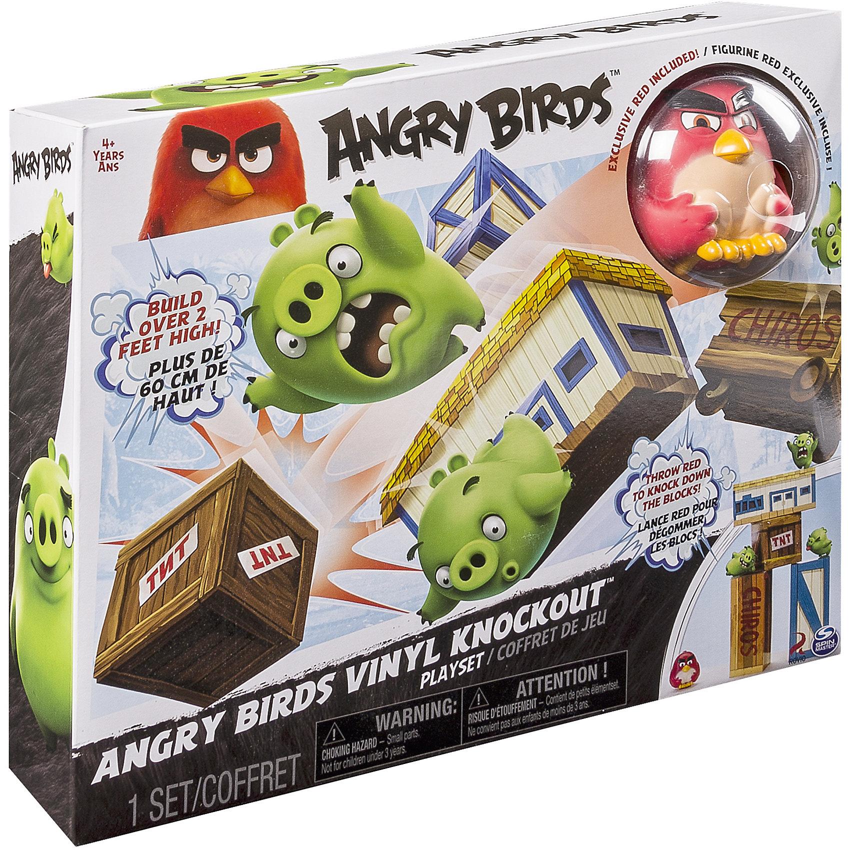 Spin Master Игровой набор Взрывная птичка, Angry Birds игровой набор angry birds telepods сражение