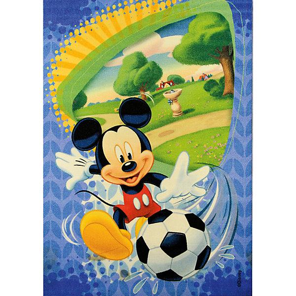 Ковер Микки Маус 80*133 смДетские ковры<br>Ковер Микки Маус 80*133 см - яркий красочный ковер, за которым легко ухаживать сделает комнату уютной вашего ребенка.<br>Позитивный качественный детский ковёр, коллекции Disney, с озорным и непоседливым мышонком Микки Маусом, любимым героем знаменитых диснеевских мультфильмов, украсит интерьер детской комнаты и наполнит мир вашего ребенка яркими и живыми красками. Детские ковры Disney очень практичны, изготовлены из безопасных и высококачественных синтетических материалов, стойки к истиранию и не выгорают. По краям ковры аккуратно обшиты. Полиамидный ворс не впитывает влагу, что существенно облегчает уход за изделием, а латексная основа не скользит по полу. Небольшой размер и вес позволит без труда перемещать ковер в разные места комнаты и легко производить уборку под ковром.<br><br>Дополнительная информация:<br><br>- Размер: 80х133 см.<br>- Высота ворса: 4 мм.<br>- Вес ковра: 1,3 кг/м2<br>- Состав ворса: 100% полиамид<br>- Состав основы: гелиевая<br>- Цвет: разноцветный, голубой<br>- Вид производства: машинное<br><br>Ковер Микки Маус 80*133 см можно купить в нашем интернет-магазине.<br><br>Ширина мм: 200<br>Глубина мм: 200<br>Высота мм: 800<br>Вес г: 1277<br>Возраст от месяцев: 36<br>Возраст до месяцев: 120<br>Пол: Мужской<br>Возраст: Детский<br>SKU: 4466006