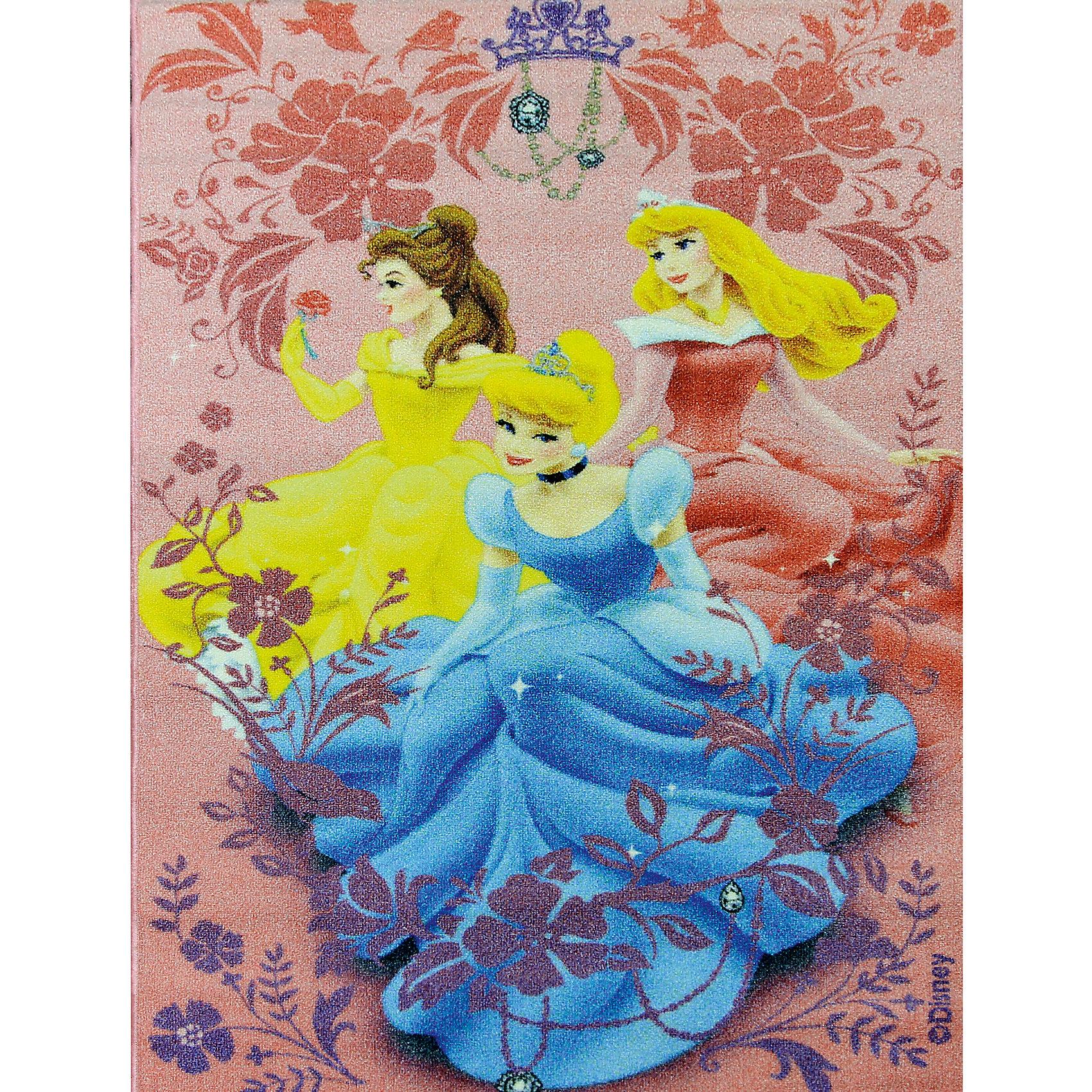 Ковер Принцессы Дисней 80*133 смКовер Принцессы Дисней 80*133 см - яркий красочный ковер, за которым легко ухаживать сделает комнату вашей малышки уютной.<br>Позитивный качественный детский ковёр коллекции Disney с прекрасными принцессами, любимыми героинями знаменитых диснеевских мультфильмов, украсит интерьер детской комнаты и наполнит мир вашей девочки яркими и живыми красками. Детские ковры Disney очень практичны, изготовлены из безопасных и высококачественных синтетических материалов, стойки к истиранию и не выгорают. По краям ковры аккуратно обшиты. Полиамидный ворс не впитывает влагу, что существенно облегчает уход за изделием, а латексная основа не скользит по полу. Небольшой размер и вес позволит без труда перемещать ковер в разные места комнаты и легко производить уборку под ковром.<br><br>Дополнительная информация:<br><br>- Размер: 80х133 см.<br>- Высота ворса: 4 мм.<br>- Вес ковра: 1,3 кг/м2<br>- Состав ворса: 100% полиамид<br>- Состав основы: гелиевая<br>- Цвет: розовый<br>- Вид производства: машинное<br><br>Ковер Принцессы Дисней 80*133 см можно купить в нашем интернет-магазине.<br><br>Ширина мм: 200<br>Глубина мм: 200<br>Высота мм: 800<br>Вес г: 1277<br>Возраст от месяцев: 36<br>Возраст до месяцев: 120<br>Пол: Женский<br>Возраст: Детский<br>SKU: 4466014