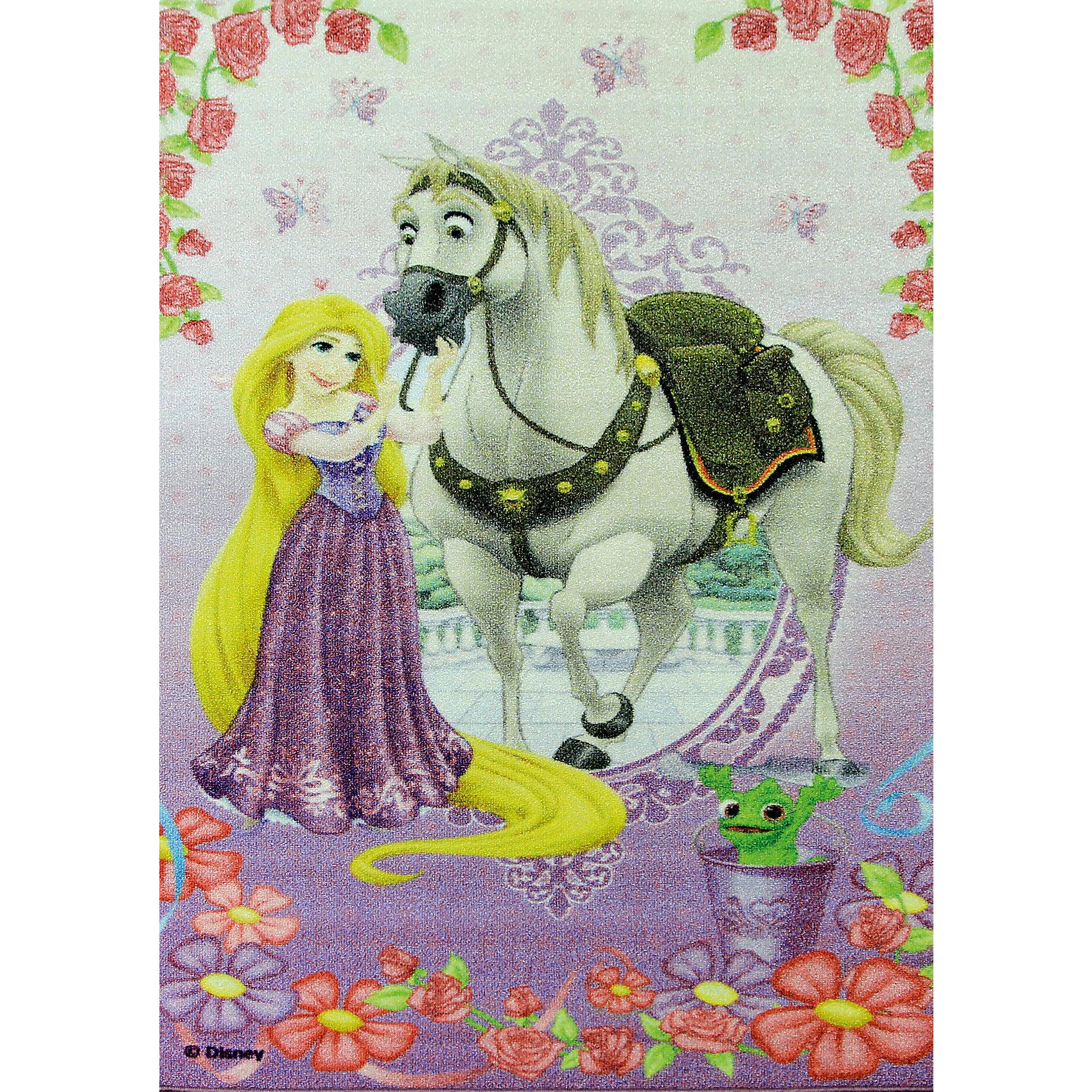 Ковер Рапунцель и конь Максимус 80*133 см, Принцессы ДиснейКовер Рапунцель и конь Максимус 80*133 см, Принцессы Дисней – яркий красочный ковер, за которым легко ухаживать сделает комнату уютной.<br>Позитивный качественный детский ковёр, коллекции Disney, с очаровательной Рапунцель и белоснежным конем Максимусом, любимыми героями знаменитого диснеевского мультфильма «Рапунцель: Запутанная история» украсит интерьер детской комнаты и наполнит мир вашей девочки яркими и живыми красками. Детские ковры Disney очень практичны, изготовлены из безопасных и высококачественных синтетических материалов, стойки к истиранию и не выгорают. По краям ковры аккуратно обшиты. Полиамидный ворс не впитывает влагу, что существенно облегчает уход за изделием, а латексная основа не скользит по полу. Небольшой размер и вес позволит без труда перемещать ковер в разные места комнаты и легко производить уборку под ковром.<br><br>Дополнительная информация:<br><br>- Размер: 80х133 см.<br>- Высота ворса: 4 мм.<br>- Вес ковра: 1,3 кг/м2<br>- Состав ворса: 100% полиамид<br>- Состав основы: гелиевая<br>- Цвет: сиреневый<br>- Вид производства: машинное<br><br>Ковер Рапунцель и конь Максимус 80*133 см, Принцессы Дисней можно купить в нашем интернет-магазине.<br><br>Ширина мм: 200<br>Глубина мм: 200<br>Высота мм: 800<br>Вес г: 1277<br>Возраст от месяцев: 36<br>Возраст до месяцев: 120<br>Пол: Женский<br>Возраст: Детский<br>SKU: 4466018