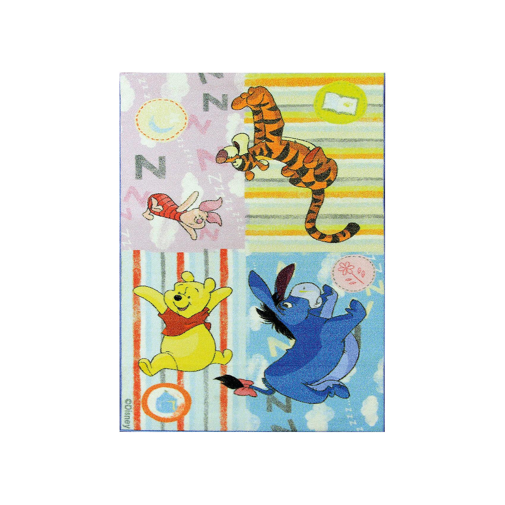 Ковер Винни Пух 133*195 см ДиснейКовер Винни Пух 133*195 см Дисней - яркий красочный ковер, за которым легко ухаживать сделает комнату уютной вашего ребенка.<br>Позитивный качественный детский ковёр, коллекции Disney, с героями знаменитых диснеевских мультфильмов о приключениях Винни Пуха и его друзей, украсит интерьер детской комнаты и наполнит мир вашего ребенка яркими и живыми красками. Детские ковры Disney очень практичны, изготовлены из безопасных и высококачественных синтетических материалов, стойки к истиранию и не выгорают. По краям ковры аккуратно обшиты. Полиамидный ворс не впитывает влагу, что существенно облегчает уход за изделием, а латексная основа не скользит по полу. Небольшой вес позволит без труда перемещать ковер в разные места комнаты и легко производить уборку под ковром.<br><br>Дополнительная информация:<br><br>- Размер: 133х195 см.<br>- Высота ворса: 4 мм.<br>- Вес ковра: 1,3 кг/м2<br>- Состав ворса: 100% полиамид<br>- Состав основы: гелиевая<br>- Цвет: разноцветный<br>- Вид производства: машинное<br><br>Ковер Винни Пух 133*195 см Дисней можно купить в нашем интернет-магазине.<br><br>Ширина мм: 300<br>Глубина мм: 300<br>Высота мм: 1330<br>Вес г: 3112<br>Возраст от месяцев: 36<br>Возраст до месяцев: 120<br>Пол: Унисекс<br>Возраст: Детский<br>SKU: 4466024
