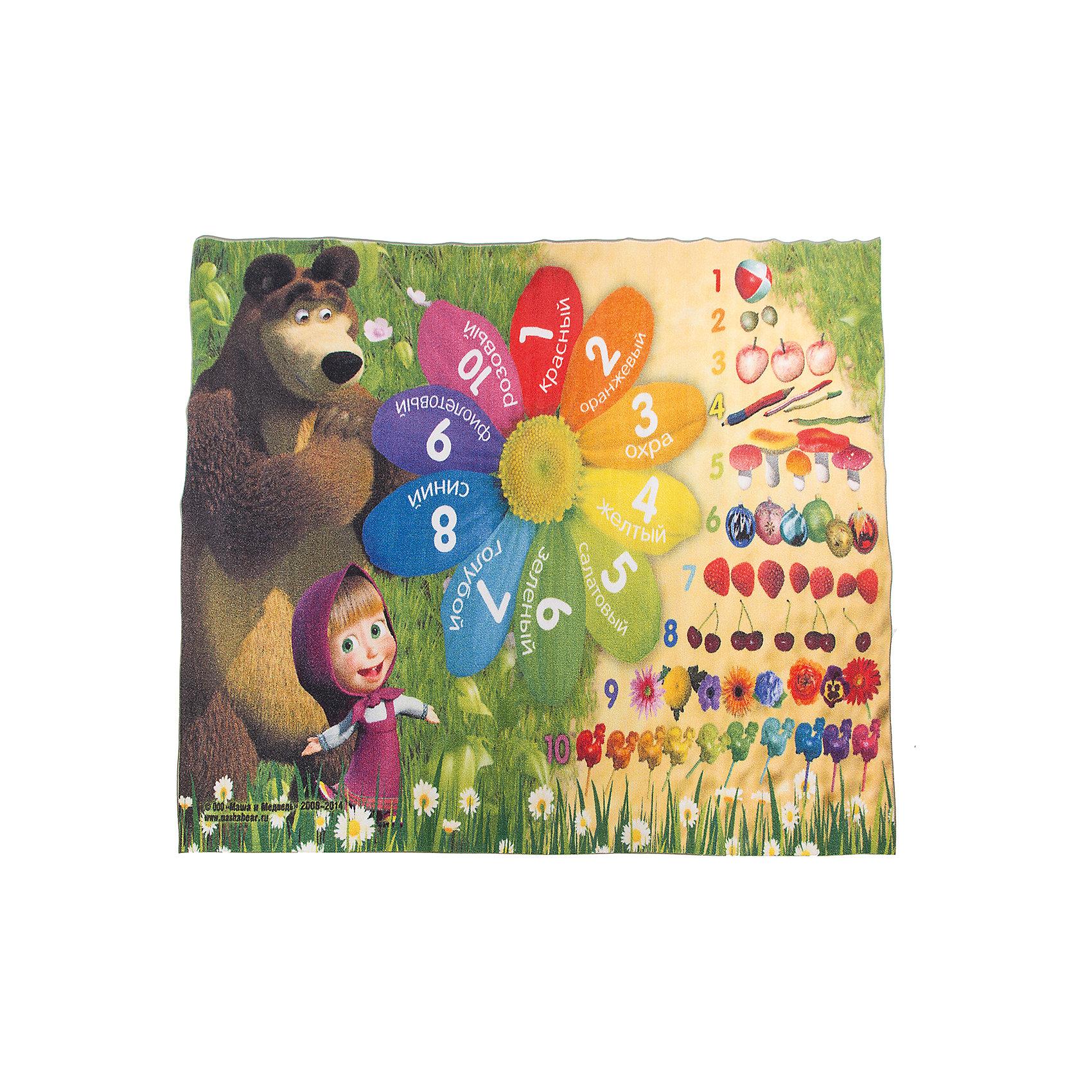 Ковер Цифры и счет 133*195 см, Маша и МедведьКовры<br>Ковер Цифры и счет 133*195 см, Маша и Медведь – яркий развивающий ковер, за которым легко ухаживать сделает уютной комнату вашего ребенка.<br>Красочный ковер «Цифры и счет» с героями мультсериала «Маша и Медведь» не только украсит комнату вашего ребенка, но и в игровой форме познакомит с цифрами, цветом и поможет овладеть первоначальными навыками счета. Качественный яркий рисунок детского ковра не выгорает, устойчив к истиранию. Ковер очень практичный, изготовлен из безопасных и высококачественных синтетических материалов. Пыль и грязь не забивается глубоко внутрь ворса, что существенно облегчает уход за изделием, а латексная основа не скользит по полу. По краям ковер аккуратно обшит. Небольшой вес позволит без труда перемещать ковер в разные места комнаты и легко производить уборку под ковром.<br><br>Дополнительная информация:<br><br>- Размер: 133х195 см.<br>- Высота ворса: 5 мм.<br>- Вес ковра: 1,3 кг/м2<br>- Плотность ворса: 290000 точек на м?<br>- Состав ворса: 100% полиамид<br>- Состав основы: гелиевая<br>- Цвет: разноцветный<br>- Вид производства: машинное<br><br>Ковер Цифры и счет 133*195 см, Маша и Медведь можно купить в нашем интернет-магазине.<br><br>Ширина мм: 300<br>Глубина мм: 300<br>Высота мм: 1330<br>Вес г: 3112<br>Цвет: разноцветный<br>Возраст от месяцев: 36<br>Возраст до месяцев: 120<br>Пол: Унисекс<br>Возраст: Детский<br>SKU: 4466029