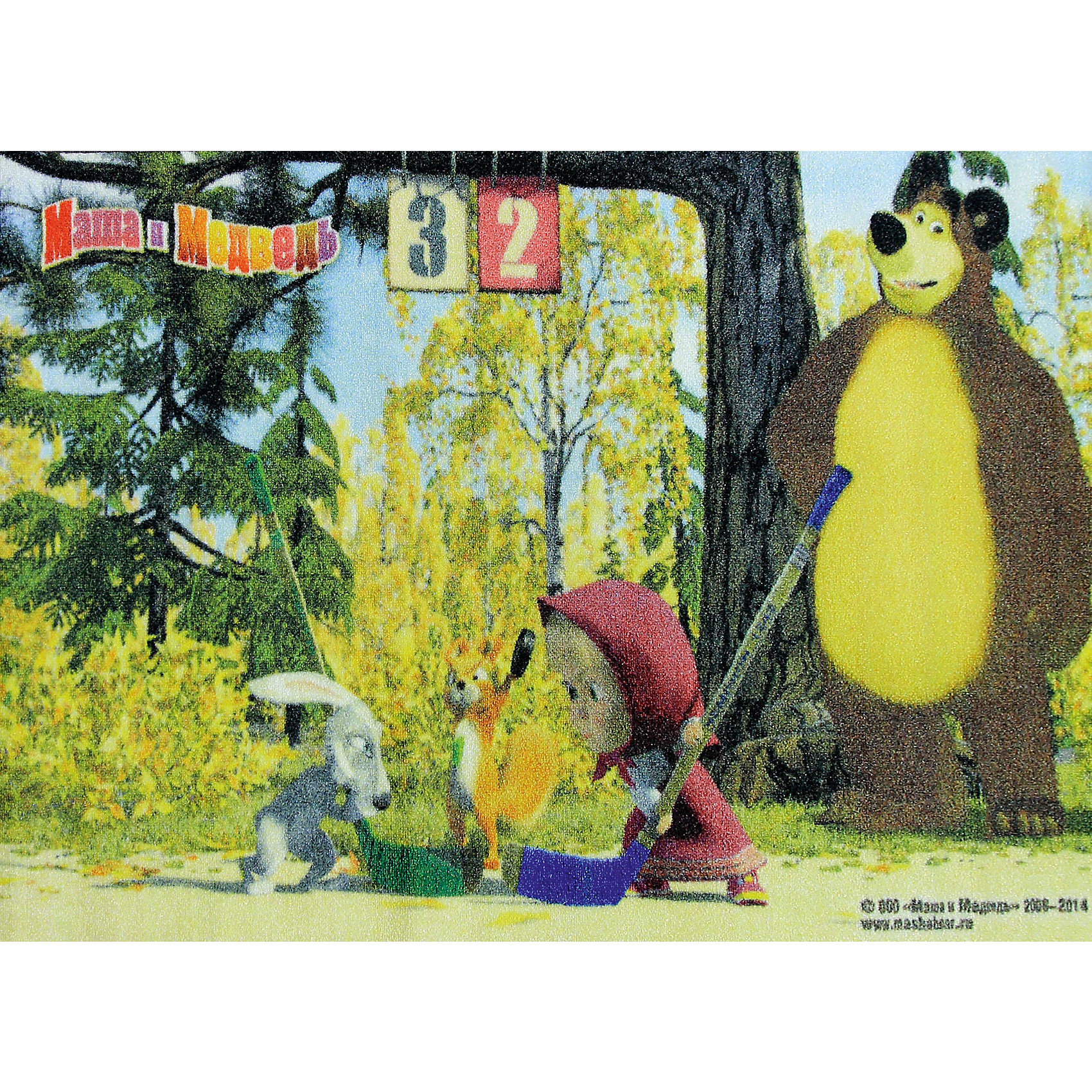 Ковер Маша и Медведь 80*133 смКовер Маша и Медведь 80*133 см – яркий красочный ковер, за которым легко ухаживать сделает уютной комнату вашего ребенка.<br>Позитивный качественный детский ковёр с изображением сюжета из мультсериала «Маша и Медведь» украсит интерьер детской комнаты и наполнит мир вашего ребенка яркими и живыми красками. Ковер очень практичный, изготовлен из безопасных и высококачественных синтетических материалов, стойкий к истиранию и не выгорает. Пыль и грязь не забивается глубоко внутрь ворса, что существенно облегчает уход за изделием, а латексная основа не скользит по полу. По краям ковер аккуратно обшит. Небольшой размер и вес позволит без труда перемещать ковер в разные места комнаты и легко производить уборку под ковром.<br><br>Дополнительная информация:<br><br>- Размер: 80х133 см.<br>- Высота ворса: 5 мм.<br>- Вес ковра: 1,3 кг/м2<br>- Плотность ворса: 290000 точек на м?<br>- Состав ворса: 100% полиамид<br>- Состав основы: гелиевая<br>- Цвет: разноцветный, желтый<br>- Вид производства: машинное<br><br>Ковер Маша и Медведь 80*133 см можно купить в нашем интернет-магазине.<br><br>Ширина мм: 200<br>Глубина мм: 200<br>Высота мм: 800<br>Вес г: 1277<br>Возраст от месяцев: 36<br>Возраст до месяцев: 120<br>Пол: Унисекс<br>Возраст: Детский<br>SKU: 4466038