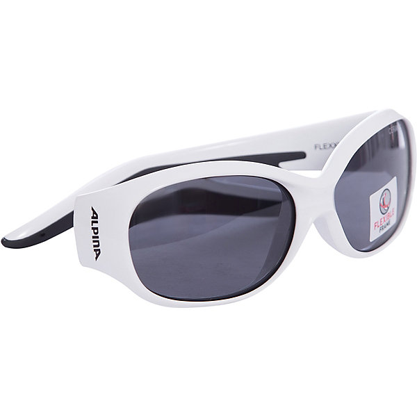 Очки солнцезащитные FLEXXY KIDS, ALPINAИгры в дорогу<br>Характеристики:<br><br>• возраст: от 4 лет;<br>• материал: пластик;<br>• размер упаковки: 19х3х3 см;<br>• вес упаковки: 200 гр.;<br>• страна производитель: Китай.<br><br>Очки солнцезащитные Alpina Flexxy Kids защищают глаза от попадания солнечных лучей во время прогулки, отдыха на природе, катания на велосипеде, занятий спортом. Линзы выполнены из прочного материала, устойчивого к разбиванию. Они защищают глаза от всех типов УФ-лучей и не запотевают.<br><br>Очки солнцезащитные Alpina Flexxy Kids можно приобрести в нашем интернет-магазине.<br>Ширина мм: 128; Глубина мм: 70; Высота мм: 43; Вес г: 35; Цвет: белый; Возраст от месяцев: 48; Возраст до месяцев: 1164; Пол: Женский; Возраст: Детский; SKU: 4467478;