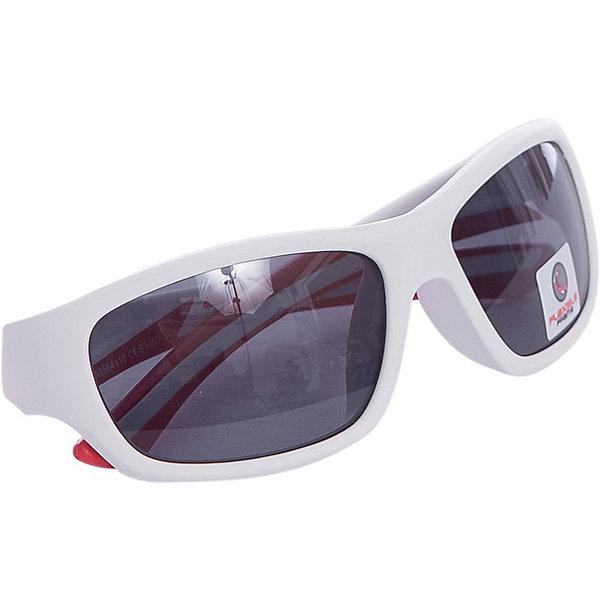 Очки солнцезащитные FLEXXY YOUTH, белые, ALPINAСолнцезащитные очки<br>Характеристики:<br><br>• возраст: от 5 лет;<br>• материал: пластик;<br>• размер упаковки: 19х3х3 см;<br>• вес упаковки: 200 гр.;<br>• страна производитель: Китай.<br><br>Очки солнцезащитные Alpina Flexxy Youth белые защищают глаза от попадания солнечных лучей во время прогулки, отдыха на природе, катания на велосипеде, занятий спортом. Линзы выполнены из прочного материала, устойчивого к разбиванию. Они защищают глаза от всех типов УФ-лучей и не запотевают.<br><br>Очки солнцезащитные Alpina Flexxy Youth белые можно приобрести в нашем интернет-магазине.<br><br>Ширина мм: 153<br>Глубина мм: 73<br>Высота мм: 45<br>Вес г: 44<br>Цвет: белый<br>Возраст от месяцев: 96<br>Возраст до месяцев: 1164<br>Пол: Унисекс<br>Возраст: Детский<br>SKU: 4467487