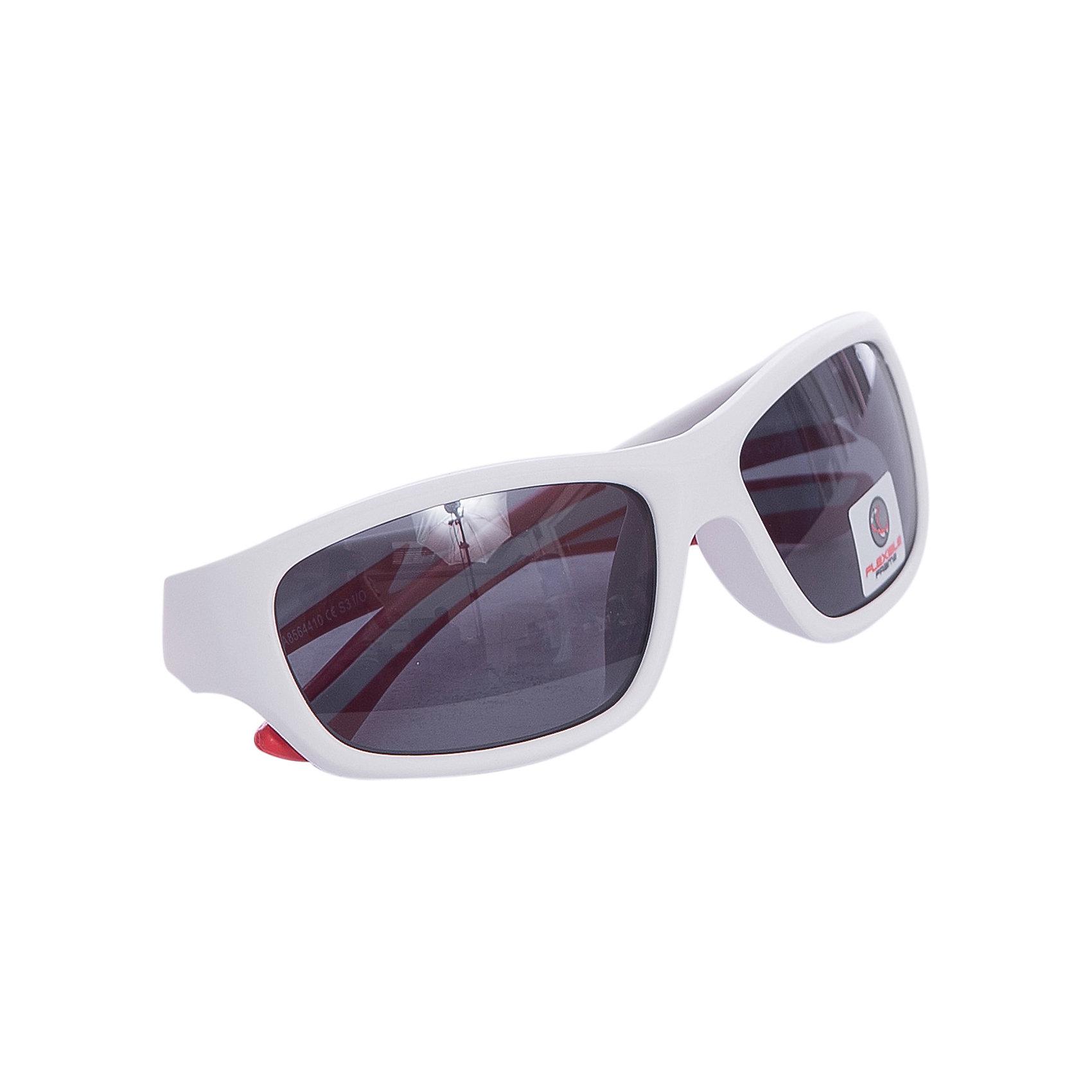 Очки солнцезащитные FLEXXY YOUTH, белые, ALPINAСолнцезащитные очки<br><br><br>Ширина мм: 153<br>Глубина мм: 73<br>Высота мм: 45<br>Вес г: 44<br>Цвет: белый<br>Возраст от месяцев: 96<br>Возраст до месяцев: 1164<br>Пол: Унисекс<br>Возраст: Детский<br>SKU: 4467487