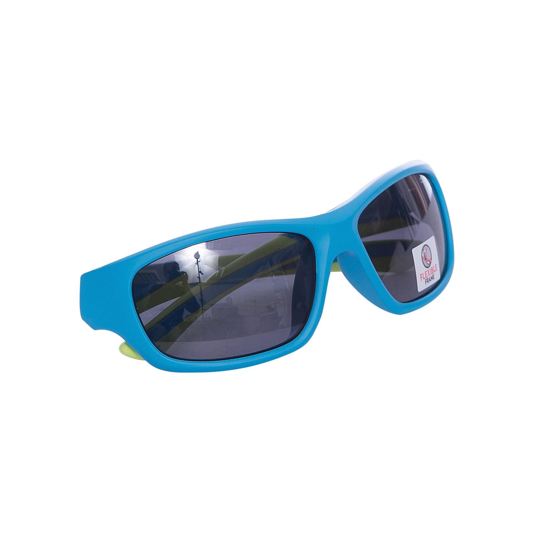 Очки солнцезащитные FLEXXY YOUTH, голубые, ALPINAОчки, маски, ласты, шапочки<br>Характеристики:<br><br>• возраст: от 5 лет;<br>• материал: пластик;<br>• размер упаковки: 19х3х3 см;<br>• вес упаковки: 200 гр.;<br>• страна производитель: Китай.<br><br>Очки солнцезащитные Alpina Flexxy Youth голубые защищают глаза от попадания солнечных лучей во время прогулки, отдыха на природе, катания на велосипеде, занятий спортом. Линзы выполнены из прочного материала, устойчивого к разбиванию. Они защищают глаза от всех типов УФ-лучей и не запотевают.<br><br>Очки солнцезащитные Alpina Flexxy Youth голубые можно приобрести в нашем интернет-магазине.<br><br>Ширина мм: 154<br>Глубина мм: 73<br>Высота мм: 53<br>Вес г: 43<br>Цвет: синий<br>Возраст от месяцев: 96<br>Возраст до месяцев: 1164<br>Пол: Унисекс<br>Возраст: Детский<br>SKU: 4467489