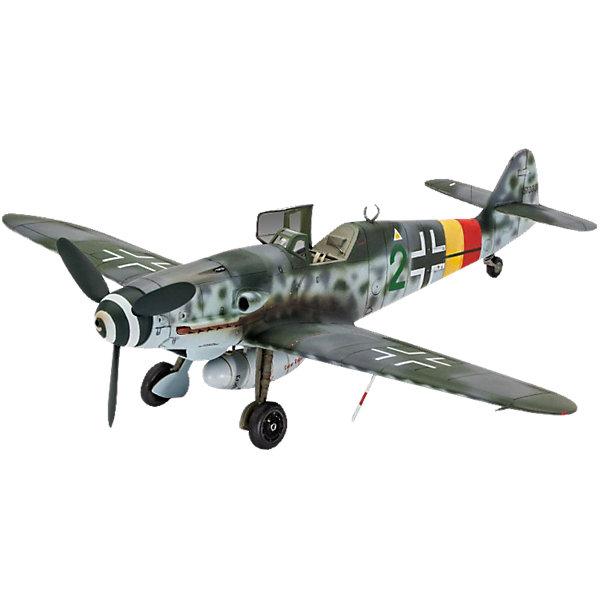 Истребитель Мессершмитт Bf.109 G-10Самолеты и вертолеты<br>Характеристики товара:<br><br>• возраст: от 10 лет;<br>• масштаб: 1:48;<br>• количество деталей: 40 шт;<br>• материал: пластик; <br>• клей и краски в комплект не входят;<br>• длина модели: 18,9 см;<br>• размах крыльев: 20,6 см;<br>• бренд, страна бренда: Revell (Ревел),Германия;<br>• страна-изготовитель: Китай.<br><br>Сборная модель для склеивания «Истребитель Мессершмитт Bf.109 G-10» поможет вам и вашему ребенку придумать увлекательное занятие на долгое время. <br><br>Набор включает в себя 40 пластиковых элементов, из которых можно собрать достоверную уменьшенную копию одноименного истребителя. В комплект также входит лист с наклейками и схематичная инструкция.<br> <br>Процесс сборки развивает интеллектуальные и инструментальные способности, воображение и конструктивное мышление, а также прививает практические навыки работы со схемами и чертежами. <br><br>Обращаем ваше внимание на тот факт, что для сборки этой модели клей и краски в комплект не входят. <br><br>Сборную модель для склеивания «Истребитель Мессершмитт Bf.109 G-10», 40 дет., Revell (Ревел) можно купить в нашем интернет-магазине.<br>Ширина мм: 316; Глубина мм: 188; Высота мм: 50; Вес г: 208; Возраст от месяцев: 120; Возраст до месяцев: 192; Пол: Мужской; Возраст: Детский; SKU: 4470133;