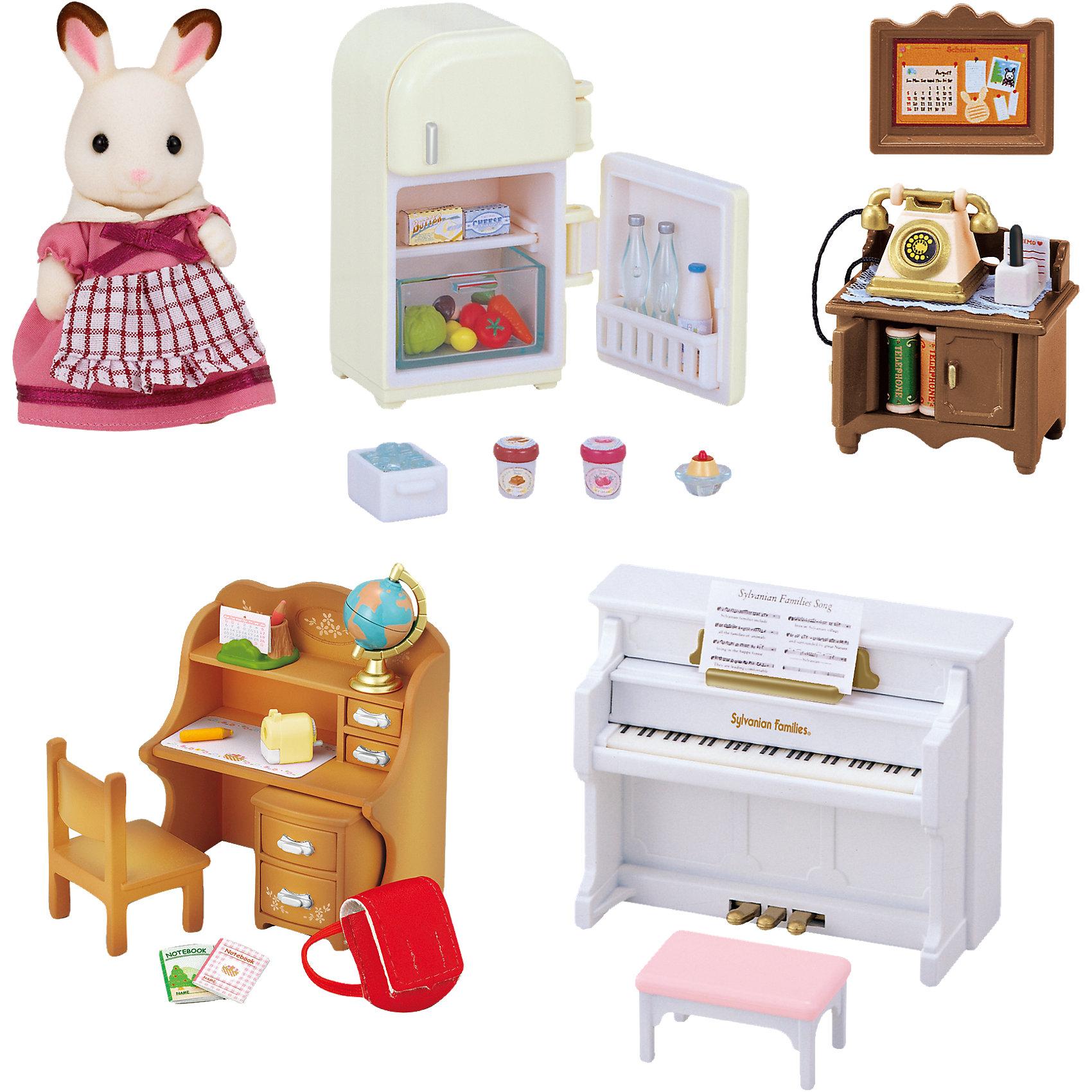 - Набор Мебель для дома Марии, Sylvanian Families набор мебель для дома марии sylvanian families