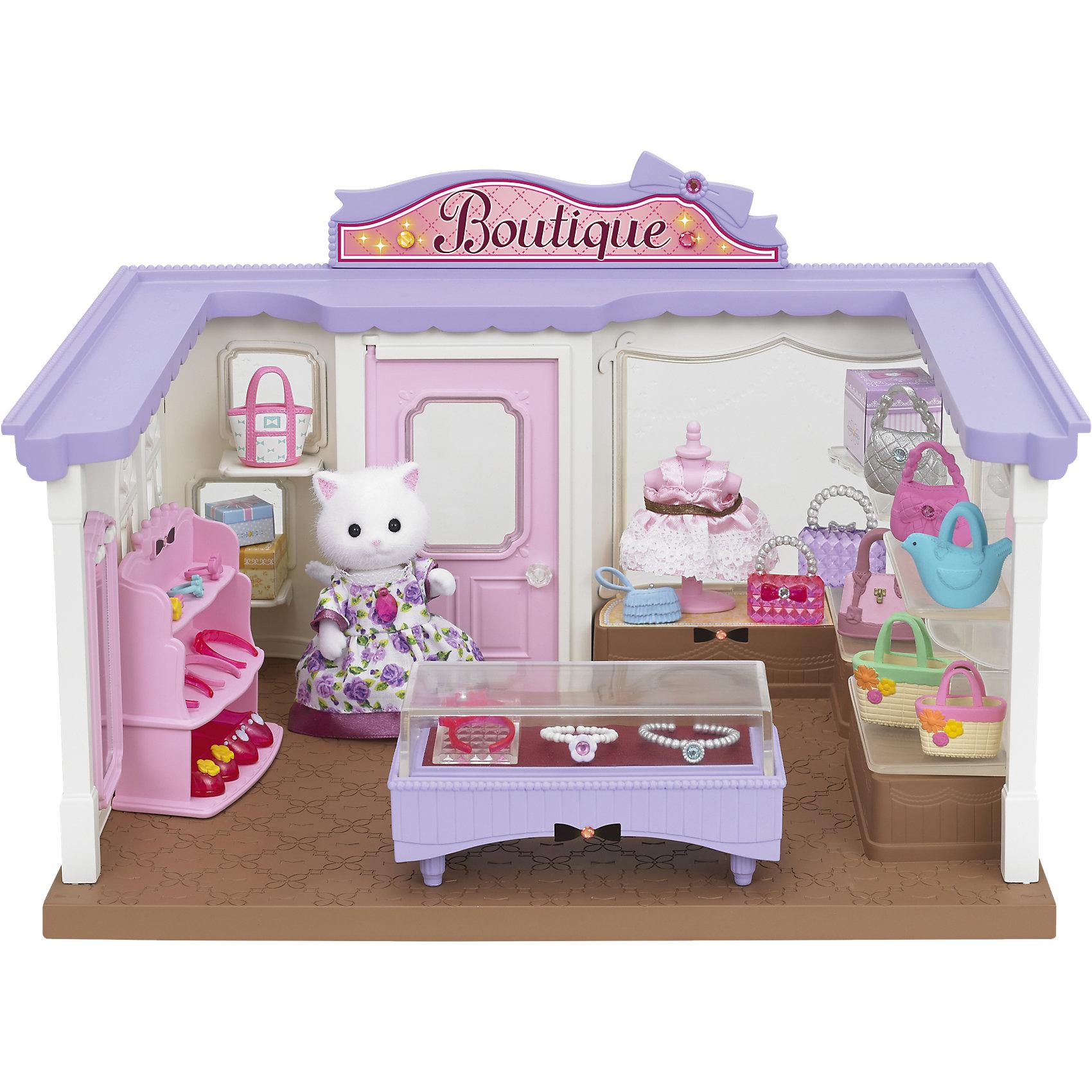 - Набор Модный бутик, Sylvanian Families конструктор playmobil модный бутик девушка в летнем наряде 6882pm