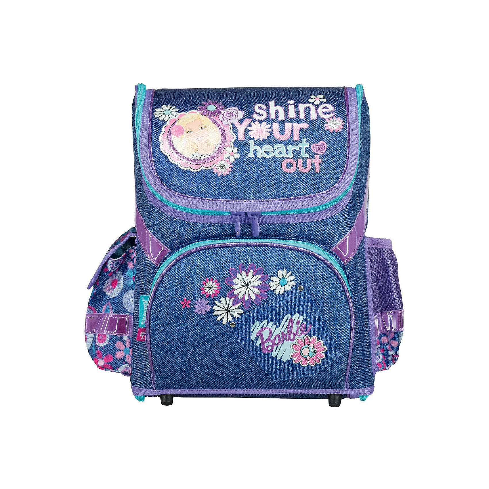Школьный ранец-трансформер с EVA-спинкой, Barbie